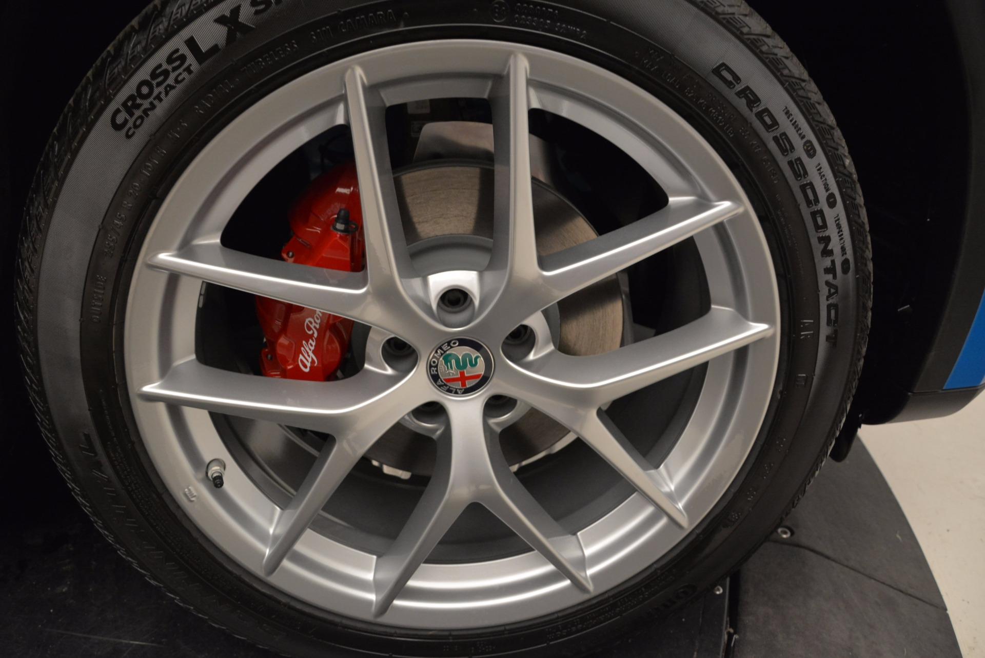 New 2018 Alfa Romeo Stelvio Ti Sport Q4 For Sale In Greenwich, CT. Alfa Romeo of Greenwich, L320 1849_p25