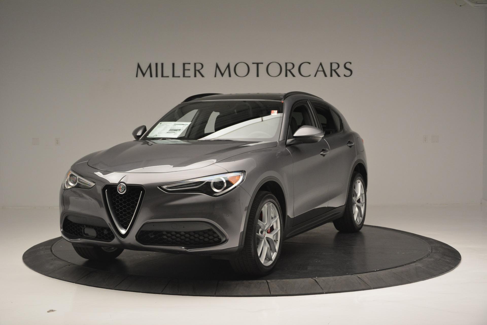New 2018 Alfa Romeo Stelvio Ti Sport Q4 For Sale In Greenwich, CT. Alfa Romeo of Greenwich, L319 1850_main