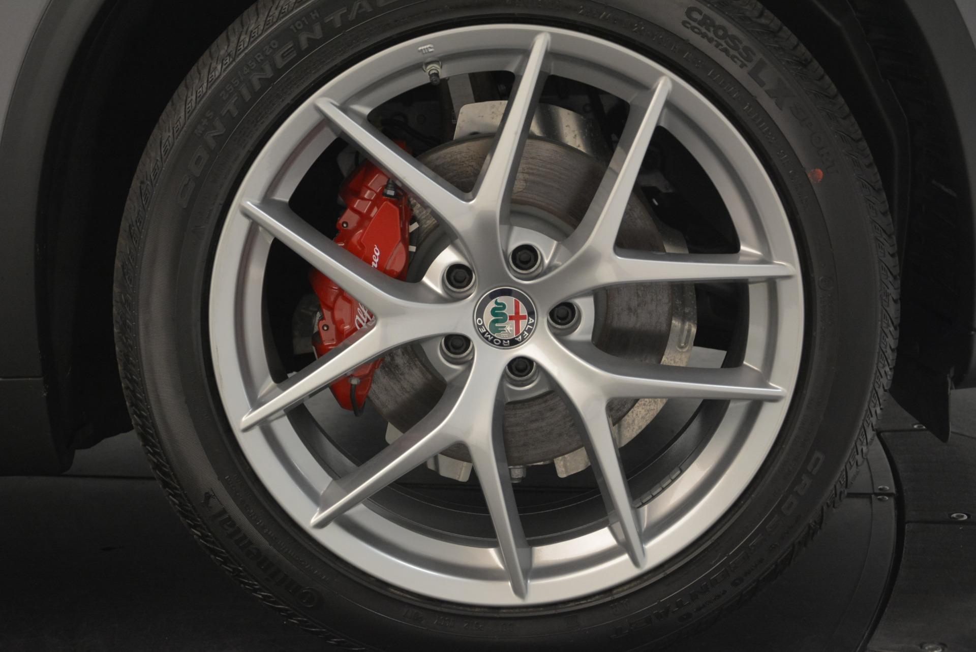 New 2018 Alfa Romeo Stelvio Ti Sport Q4 For Sale In Greenwich, CT. Alfa Romeo of Greenwich, L319 1850_p25