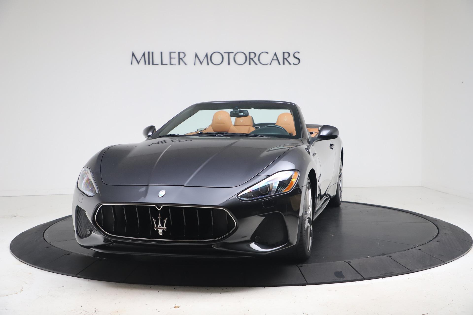 New 2018 Maserati GranTurismo Sport Convertible For Sale In Greenwich, CT. Alfa Romeo of Greenwich, W542 1854_main