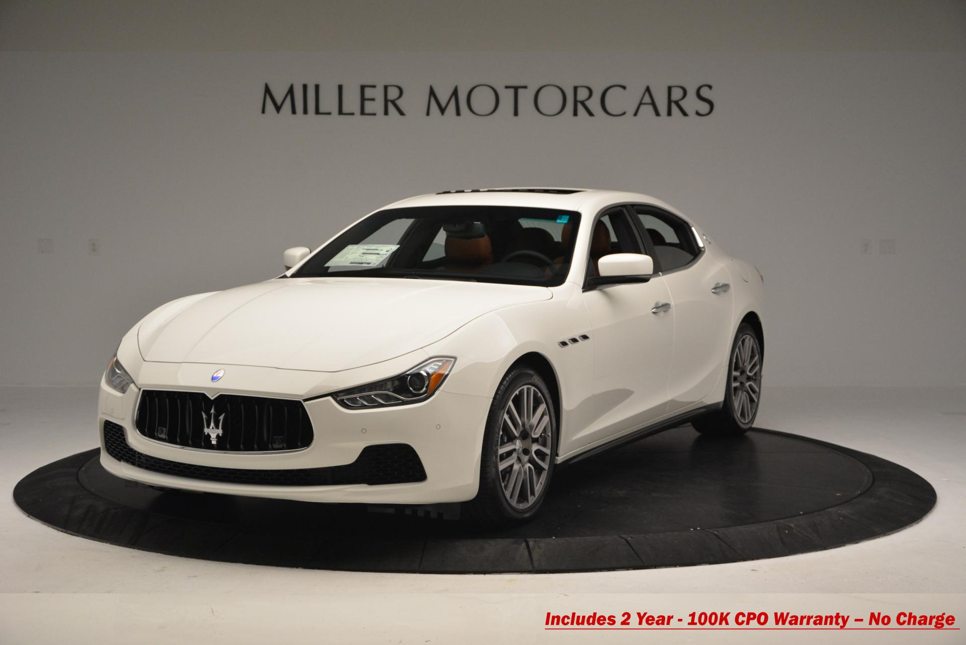 Used 2016 Maserati Ghibli S Q4 For Sale In Greenwich, CT. Alfa Romeo of Greenwich, M1474 186_main