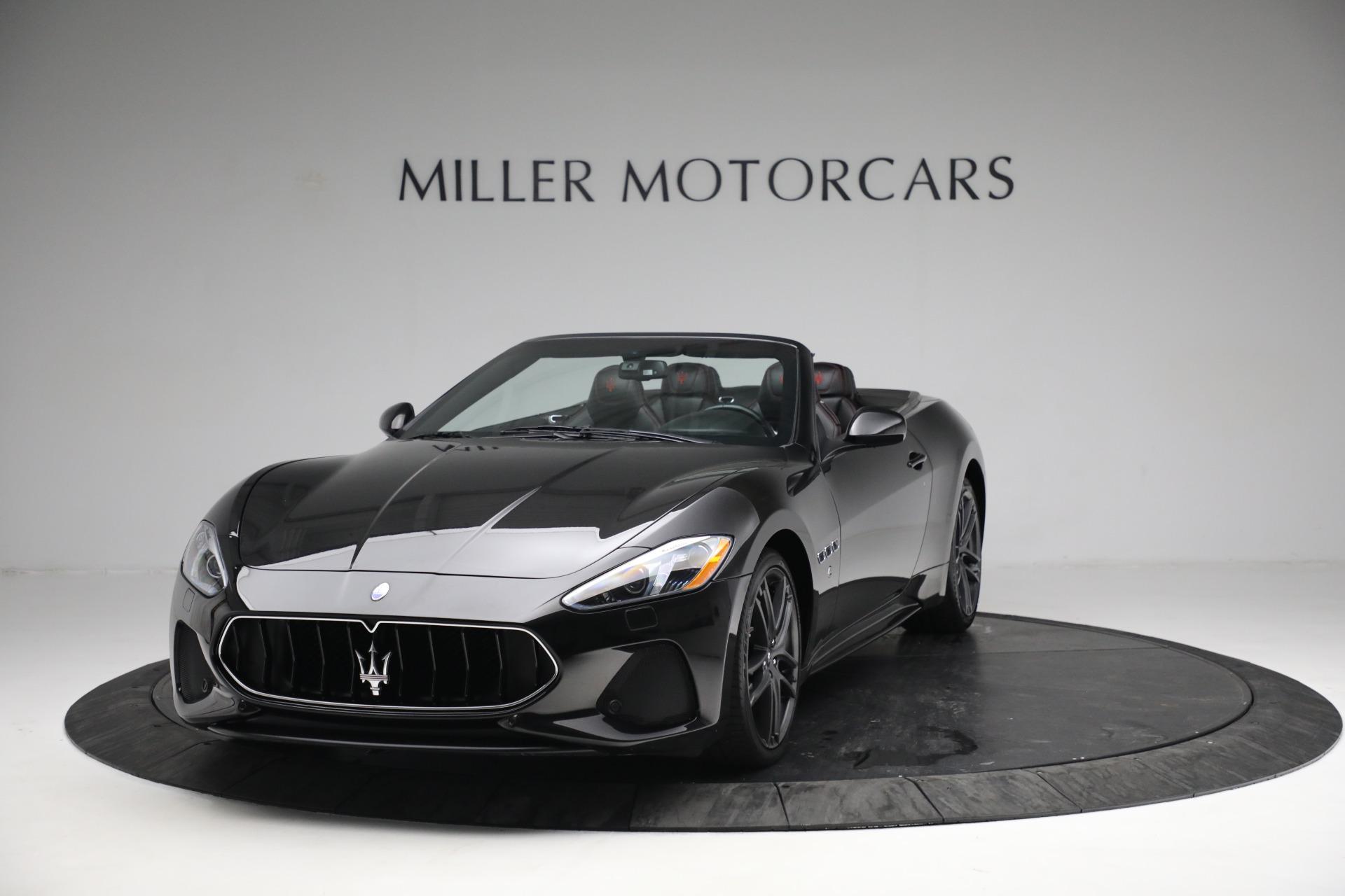 New 2018 Maserati GranTurismo Sport Convertible For Sale In Greenwich, CT. Alfa Romeo of Greenwich, M1999 1863_main