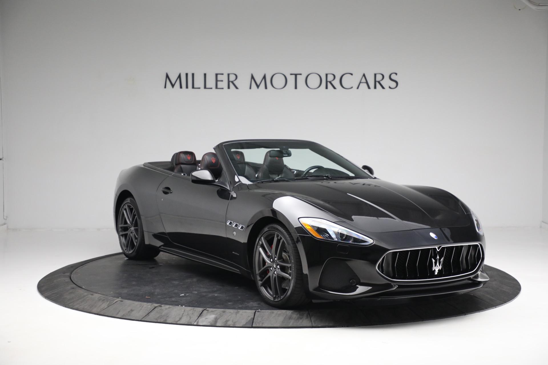 New 2018 Maserati GranTurismo Sport Convertible For Sale In Greenwich, CT. Alfa Romeo of Greenwich, M1999 1863_p11