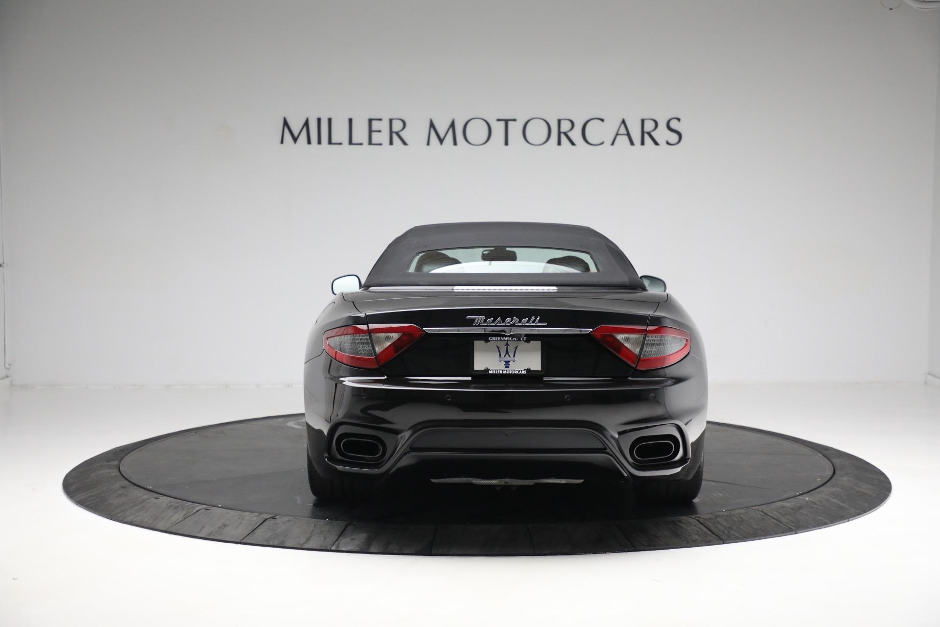 New 2018 Maserati GranTurismo Sport Convertible For Sale In Greenwich, CT. Alfa Romeo of Greenwich, M1999 1863_p18