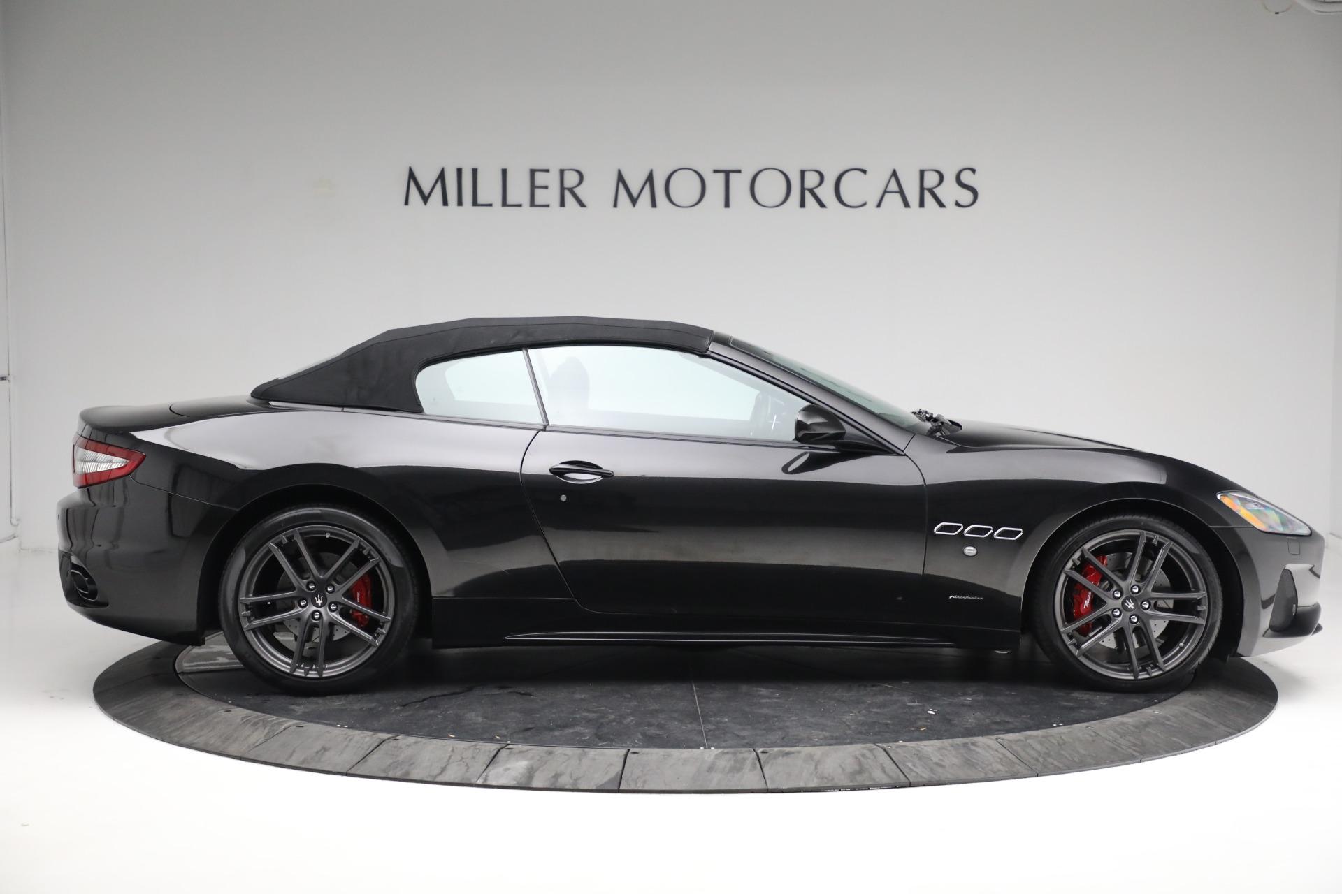 New 2018 Maserati GranTurismo Sport Convertible For Sale In Greenwich, CT. Alfa Romeo of Greenwich, M1999 1863_p21