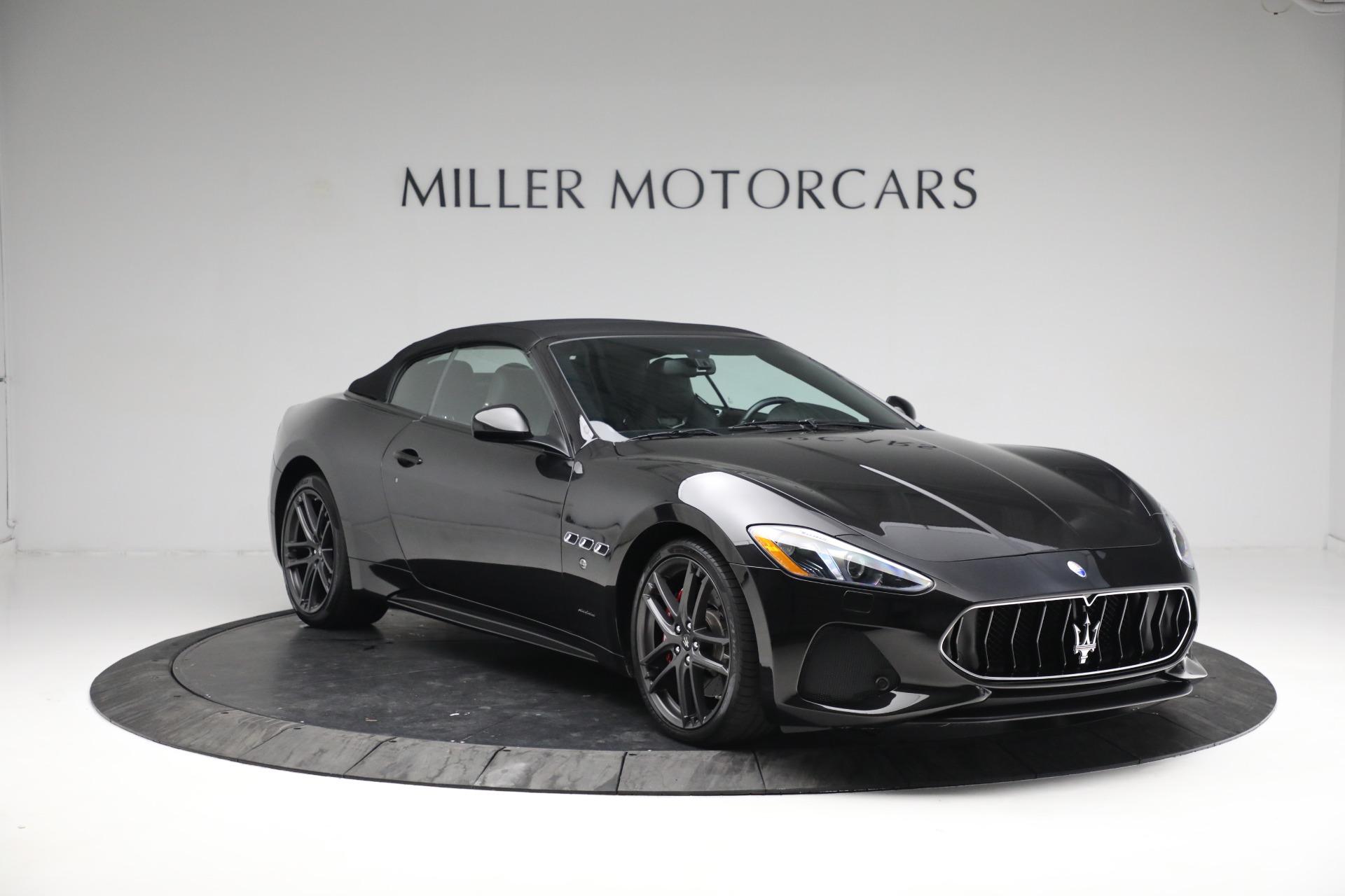 New 2018 Maserati GranTurismo Sport Convertible For Sale In Greenwich, CT. Alfa Romeo of Greenwich, M1999 1863_p23