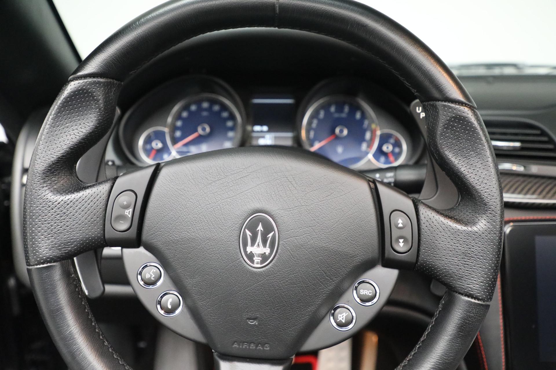 New 2018 Maserati GranTurismo Sport Convertible For Sale In Greenwich, CT. Alfa Romeo of Greenwich, M1999 1863_p29