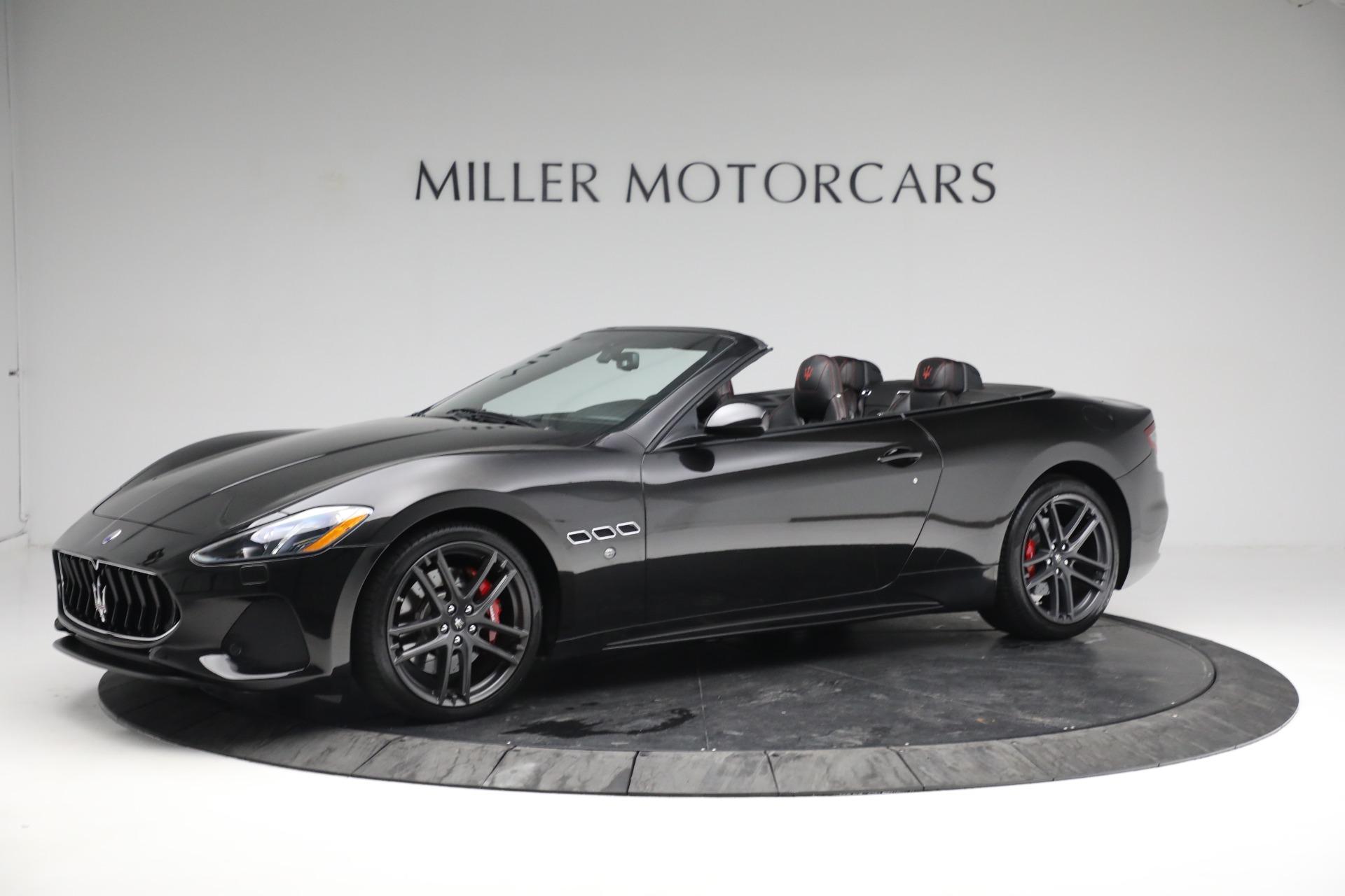 New 2018 Maserati GranTurismo Sport Convertible For Sale In Greenwich, CT. Alfa Romeo of Greenwich, M1999 1863_p2