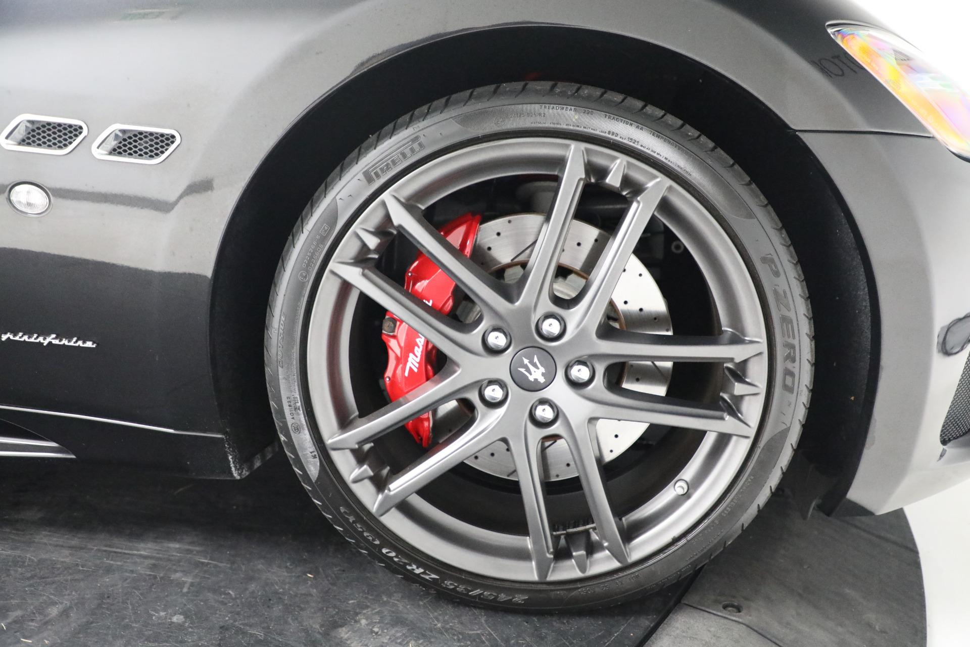 New 2018 Maserati GranTurismo Sport Convertible For Sale In Greenwich, CT. Alfa Romeo of Greenwich, M1999 1863_p30