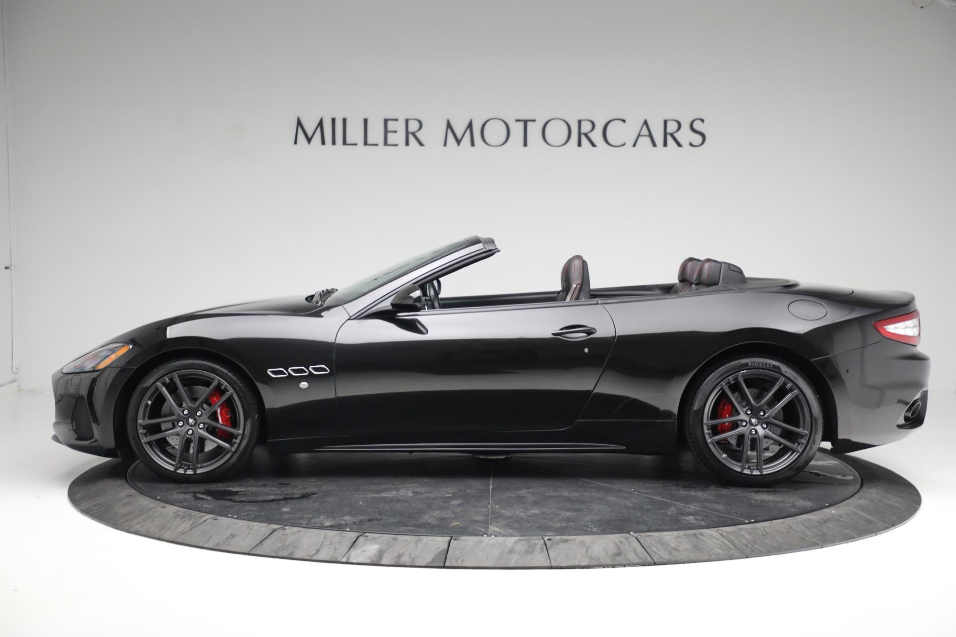 New 2018 Maserati GranTurismo Sport Convertible For Sale In Greenwich, CT. Alfa Romeo of Greenwich, M1999 1863_p3