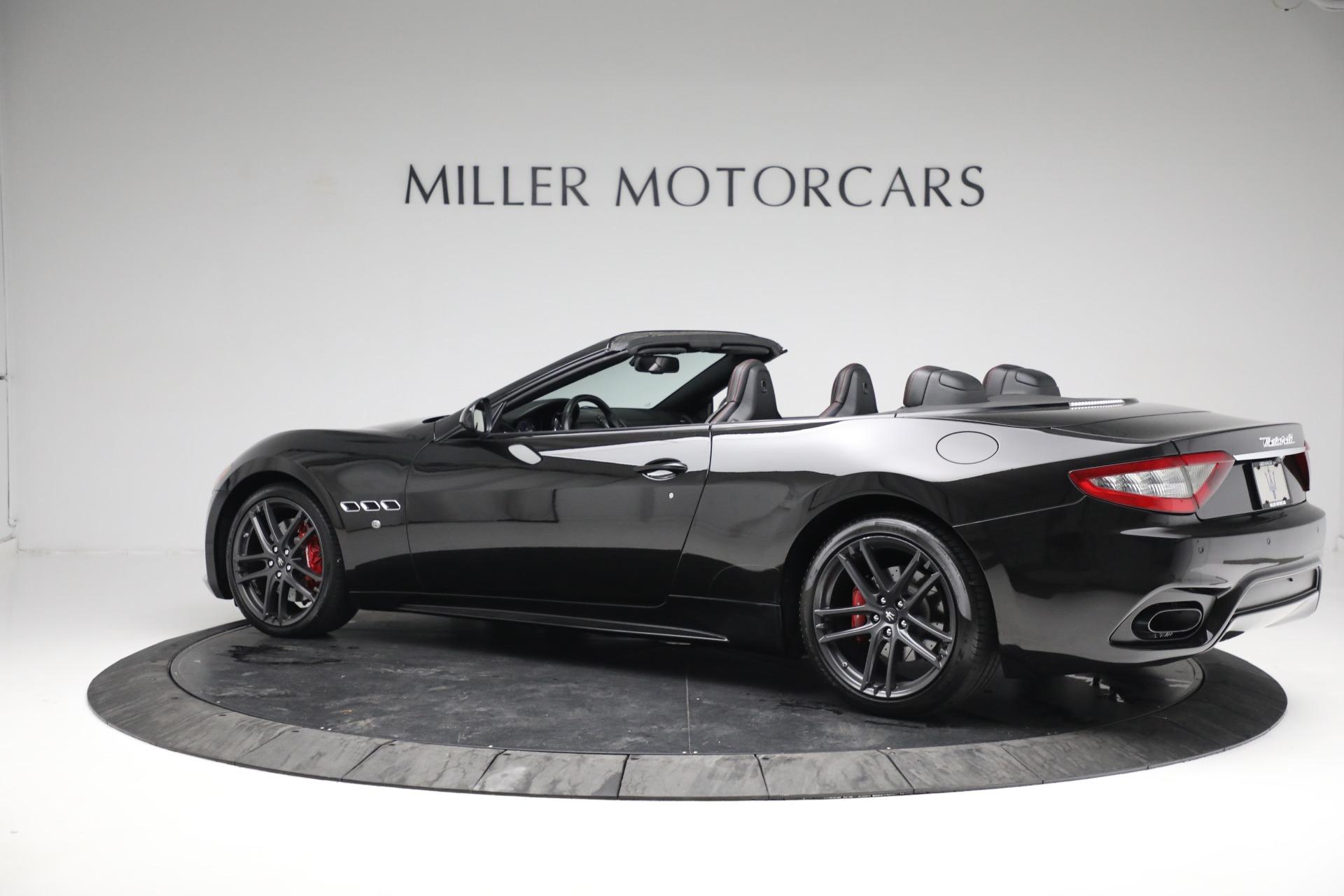 New 2018 Maserati GranTurismo Sport Convertible For Sale In Greenwich, CT. Alfa Romeo of Greenwich, M1999 1863_p4