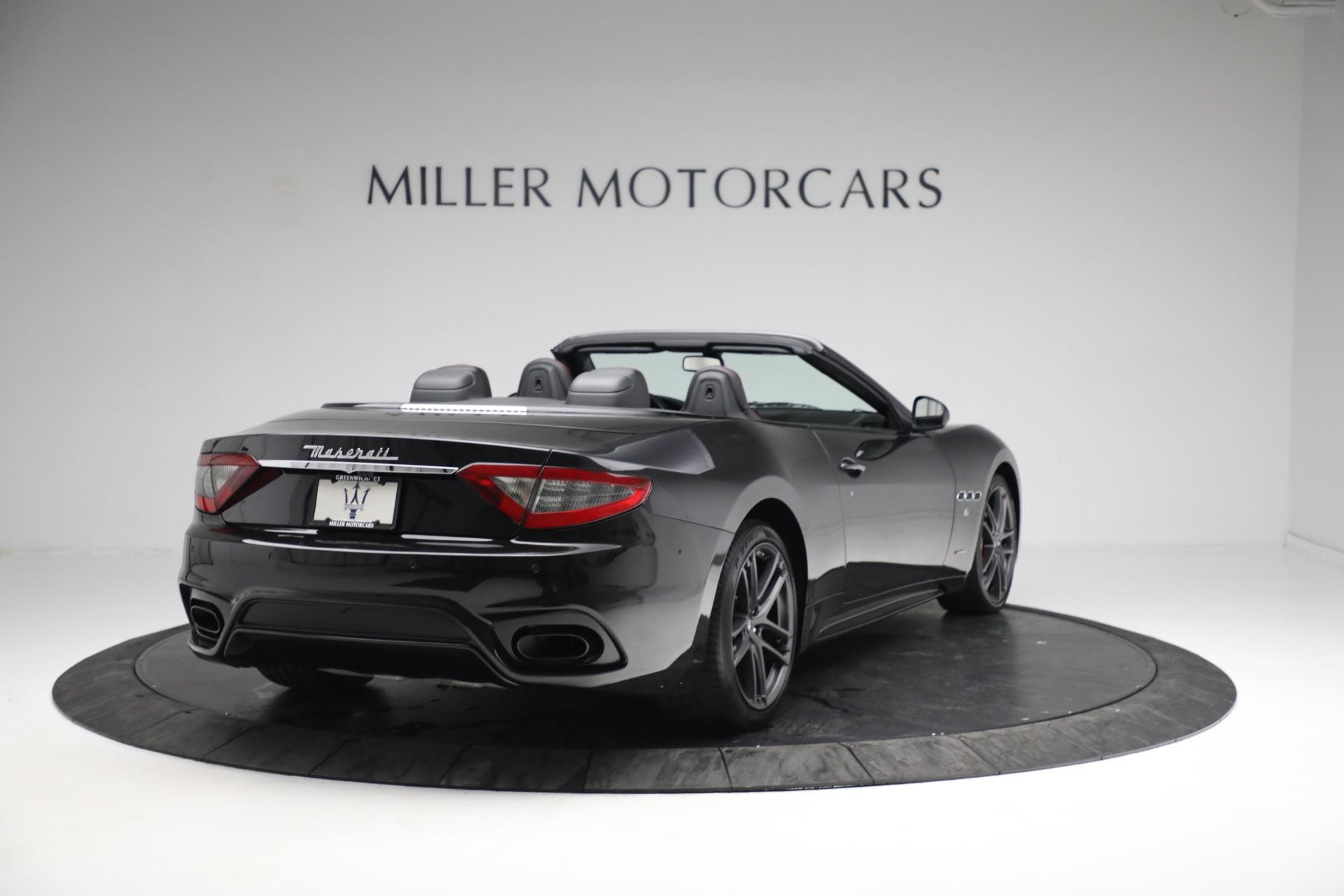 New 2018 Maserati GranTurismo Sport Convertible For Sale In Greenwich, CT. Alfa Romeo of Greenwich, M1999 1863_p7