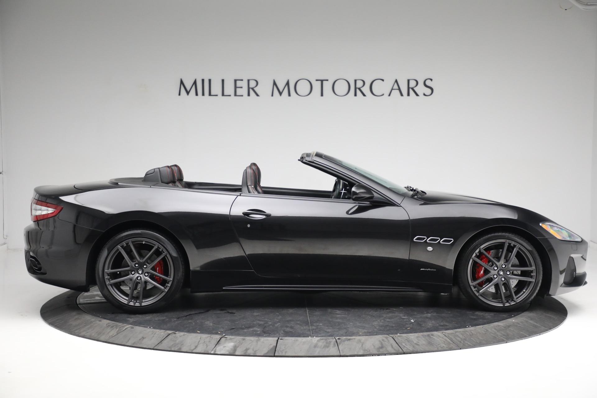 New 2018 Maserati GranTurismo Sport Convertible For Sale In Greenwich, CT. Alfa Romeo of Greenwich, M1999 1863_p9