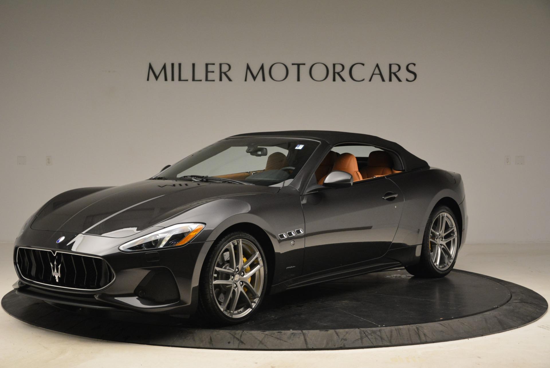 Used 2018 Maserati GranTurismo Sport Convertible For Sale In Greenwich, CT. Alfa Romeo of Greenwich, 7501 1865_p12