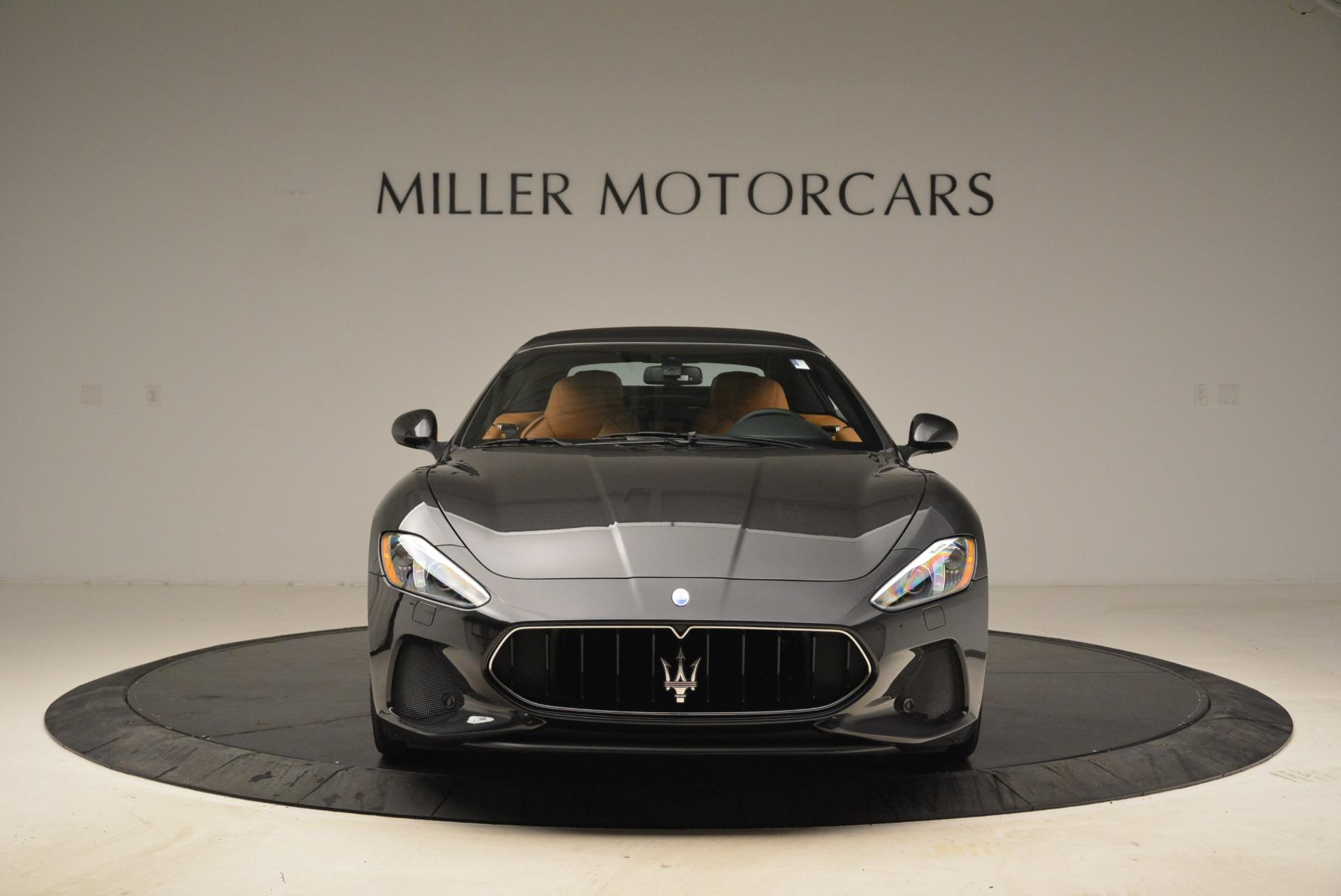 Used 2018 Maserati GranTurismo Sport Convertible For Sale In Greenwich, CT. Alfa Romeo of Greenwich, 7501 1865_p22