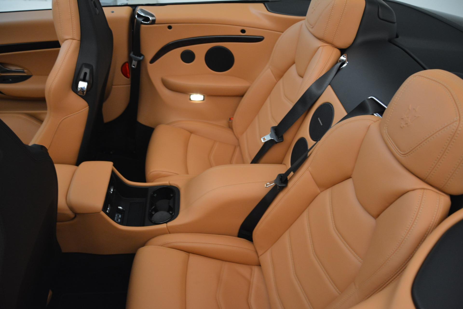 Used 2018 Maserati GranTurismo Sport Convertible For Sale In Greenwich, CT. Alfa Romeo of Greenwich, 7501 1865_p30