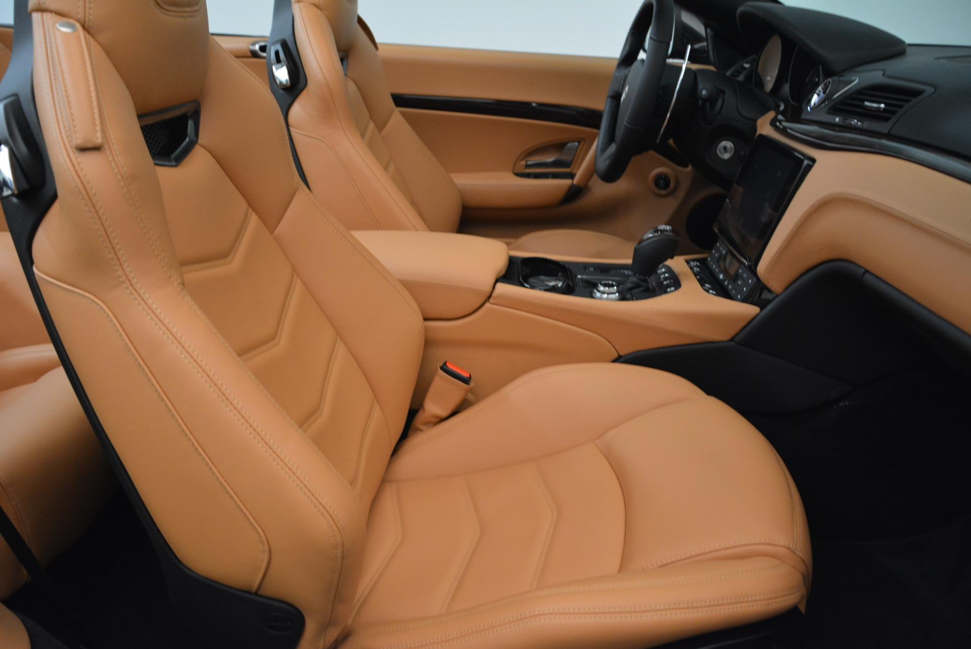 Used 2018 Maserati GranTurismo Sport Convertible For Sale In Greenwich, CT. Alfa Romeo of Greenwich, 7501 1865_p32