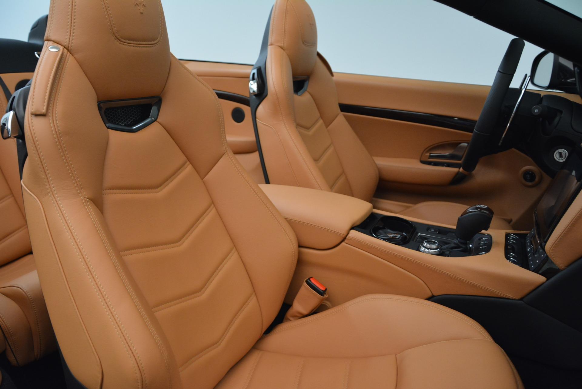 Used 2018 Maserati GranTurismo Sport Convertible For Sale In Greenwich, CT. Alfa Romeo of Greenwich, 7501 1865_p33