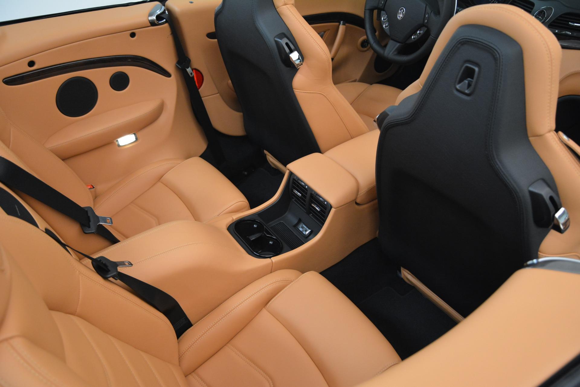 Used 2018 Maserati GranTurismo Sport Convertible For Sale In Greenwich, CT. Alfa Romeo of Greenwich, 7501 1865_p34