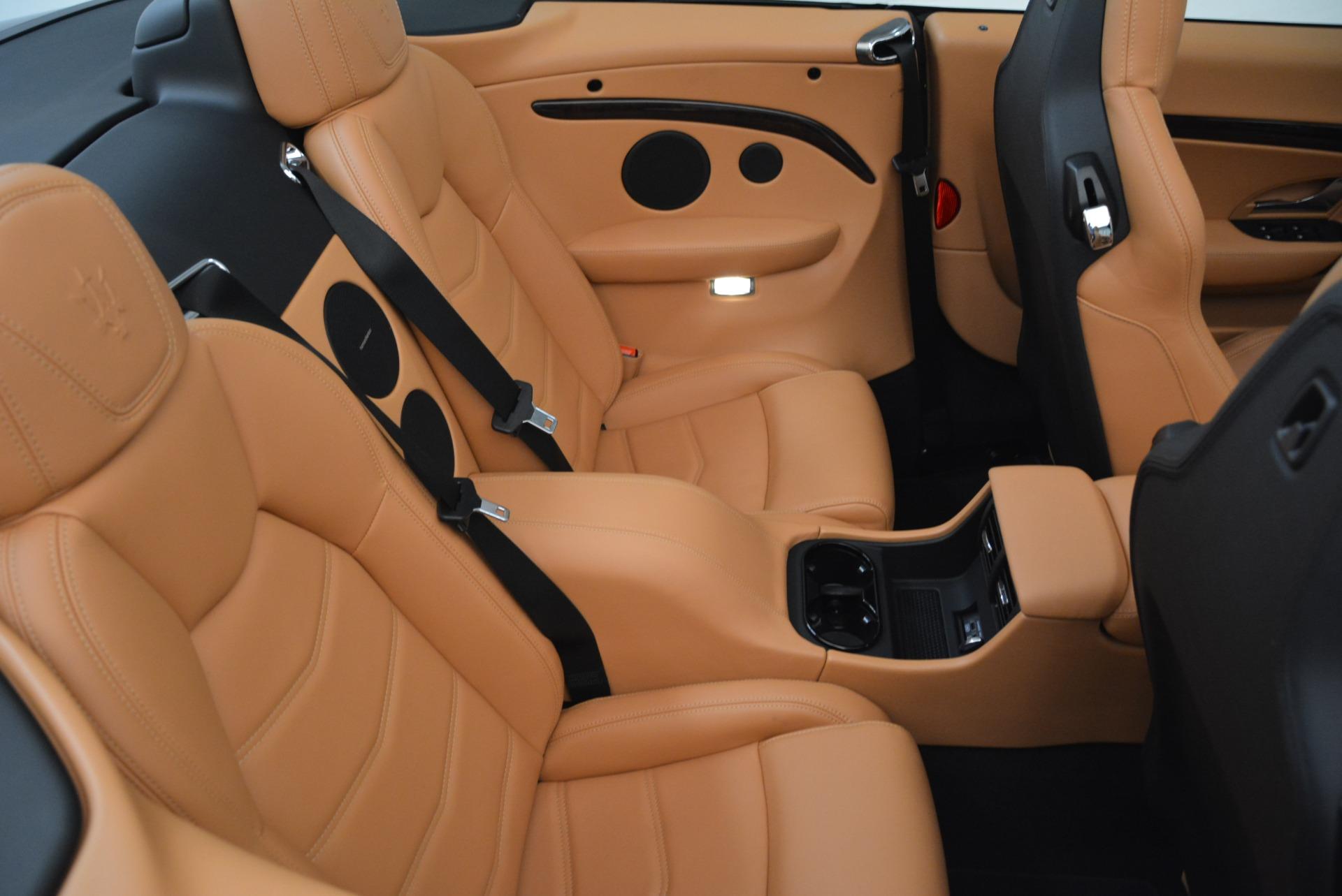 Used 2018 Maserati GranTurismo Sport Convertible For Sale In Greenwich, CT. Alfa Romeo of Greenwich, 7501 1865_p35