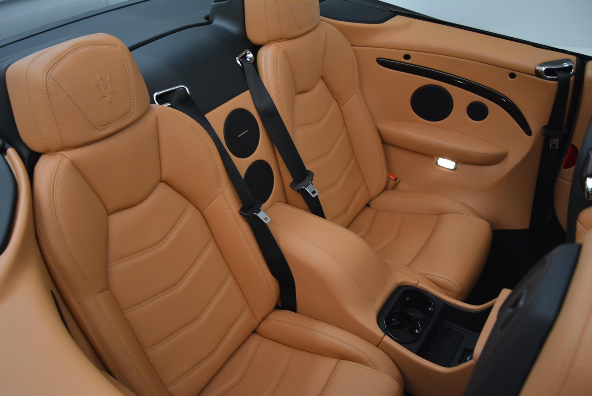 Used 2018 Maserati GranTurismo Sport Convertible For Sale In Greenwich, CT. Alfa Romeo of Greenwich, 7501 1865_p36