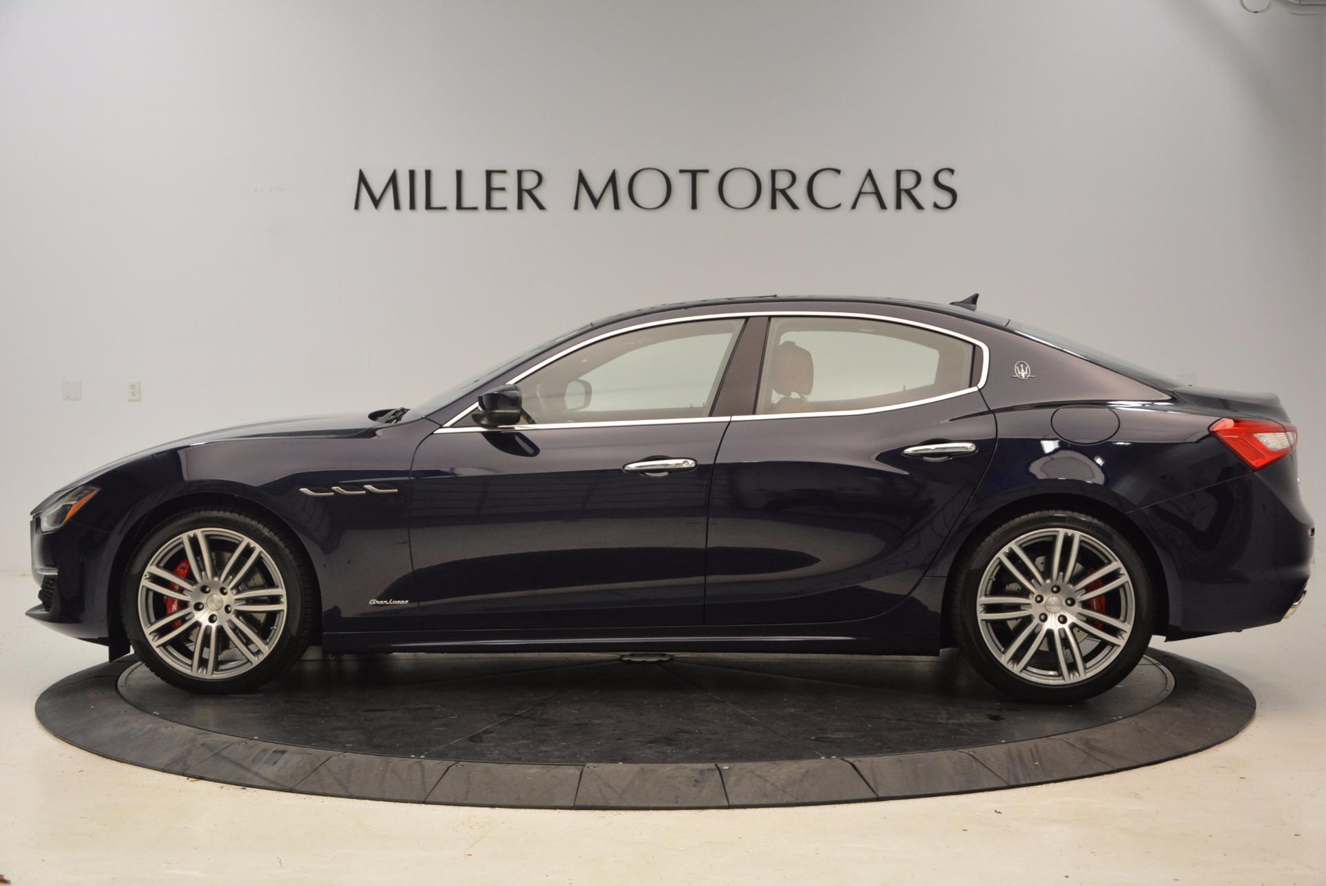 New 2018 Maserati Ghibli S Q4 GranLusso For Sale In Greenwich, CT. Alfa Romeo of Greenwich, M1989 1866_p3