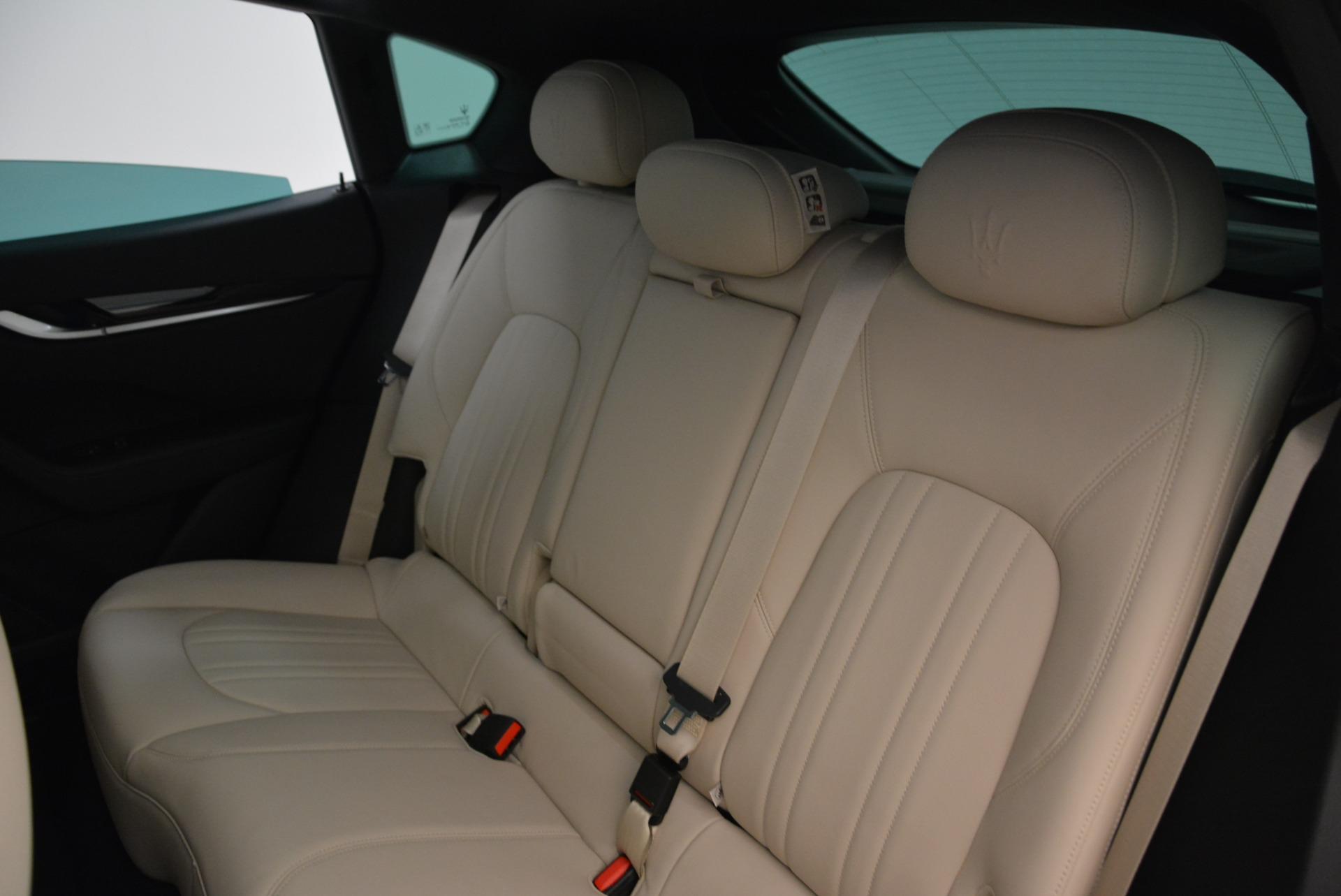 New 2017 Maserati Levante Q4 For Sale In Greenwich, CT. Alfa Romeo of Greenwich, M2001 1872_p20