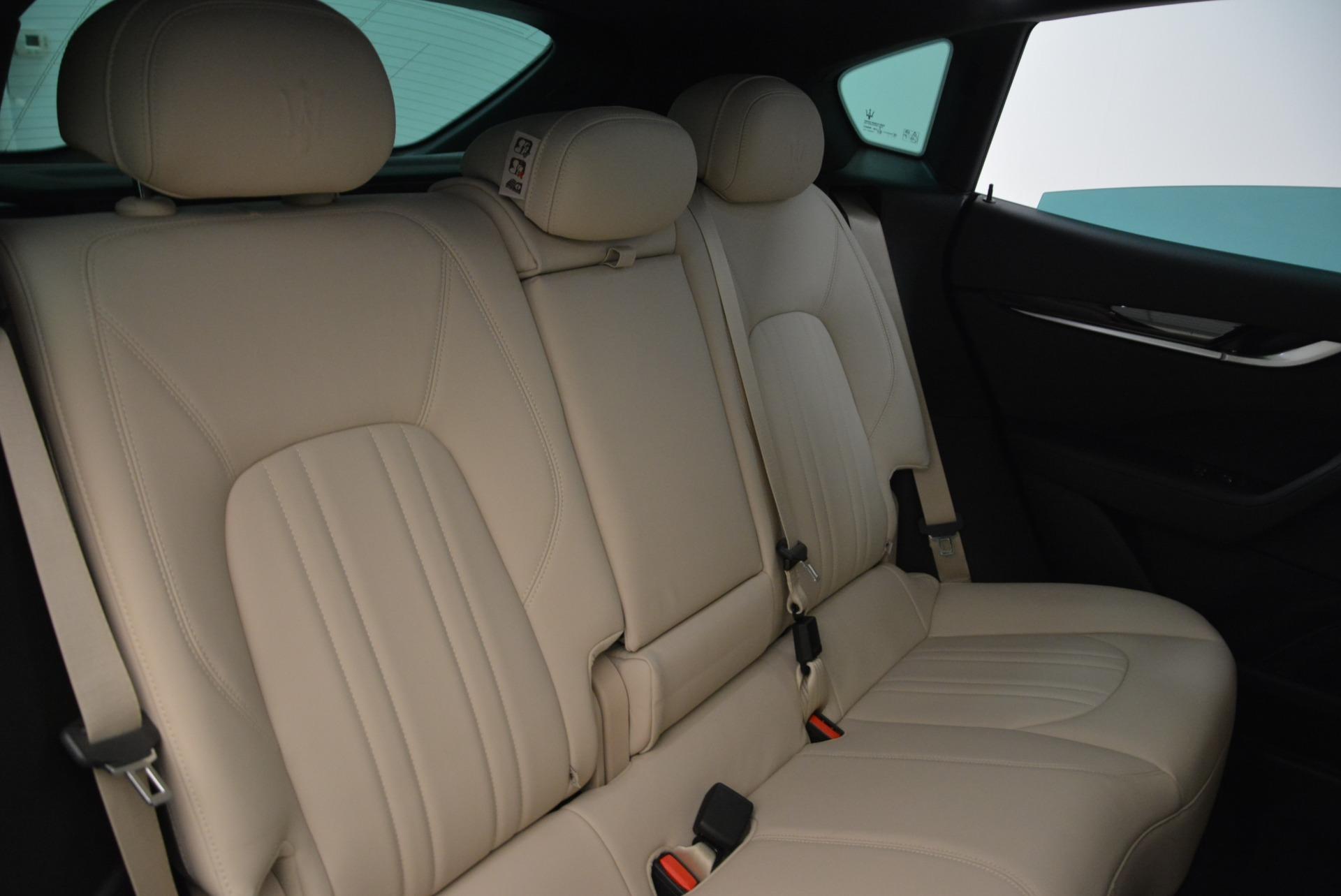 New 2017 Maserati Levante Q4 For Sale In Greenwich, CT. Alfa Romeo of Greenwich, M2001 1872_p26