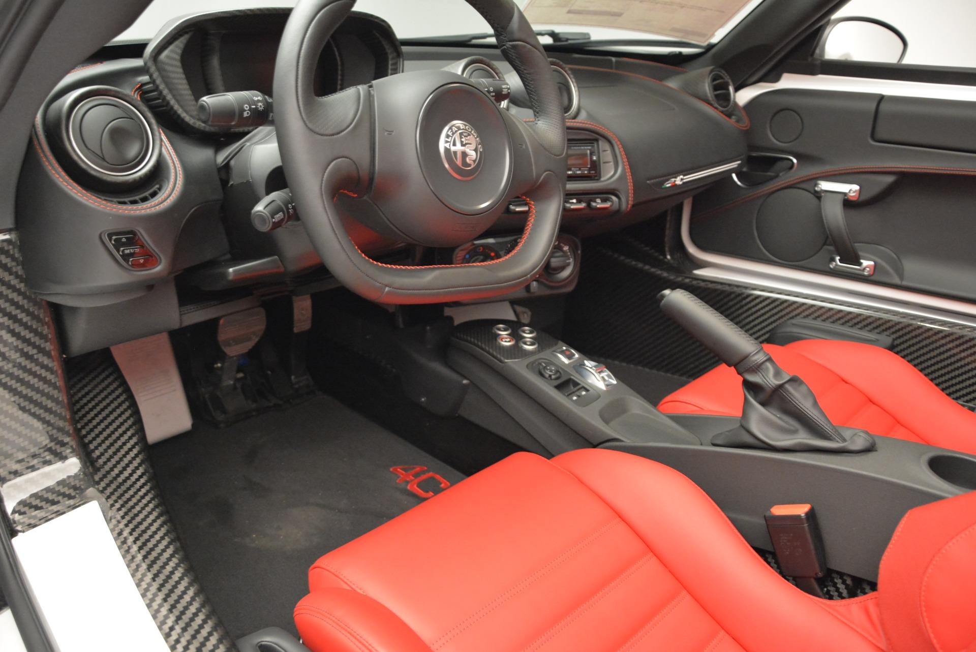 New 2018 Alfa Romeo 4C Spider For Sale In Greenwich, CT. Alfa Romeo of Greenwich, L323 1878_p19