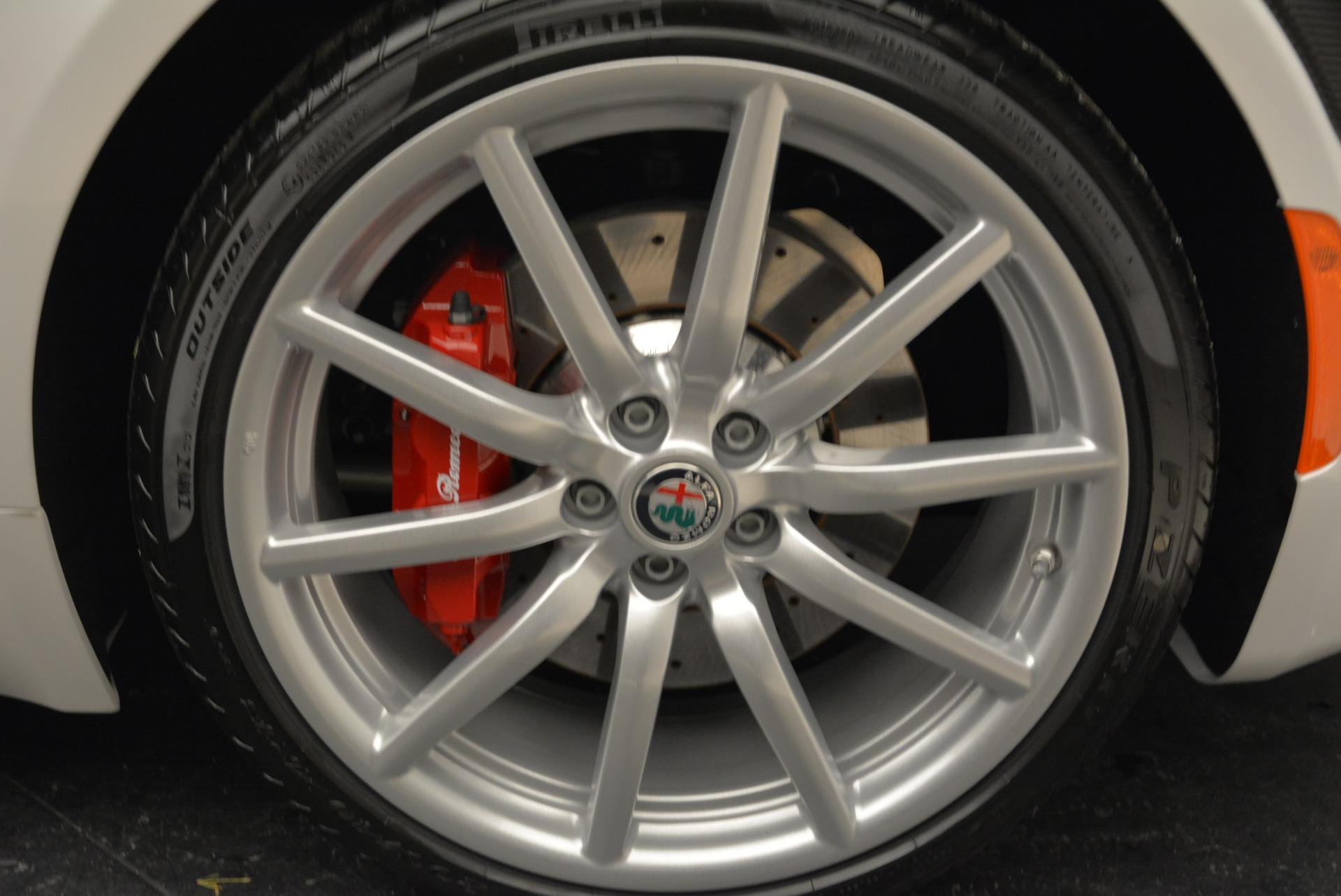 New 2018 Alfa Romeo 4C Spider For Sale In Greenwich, CT. Alfa Romeo of Greenwich, L323 1878_p27