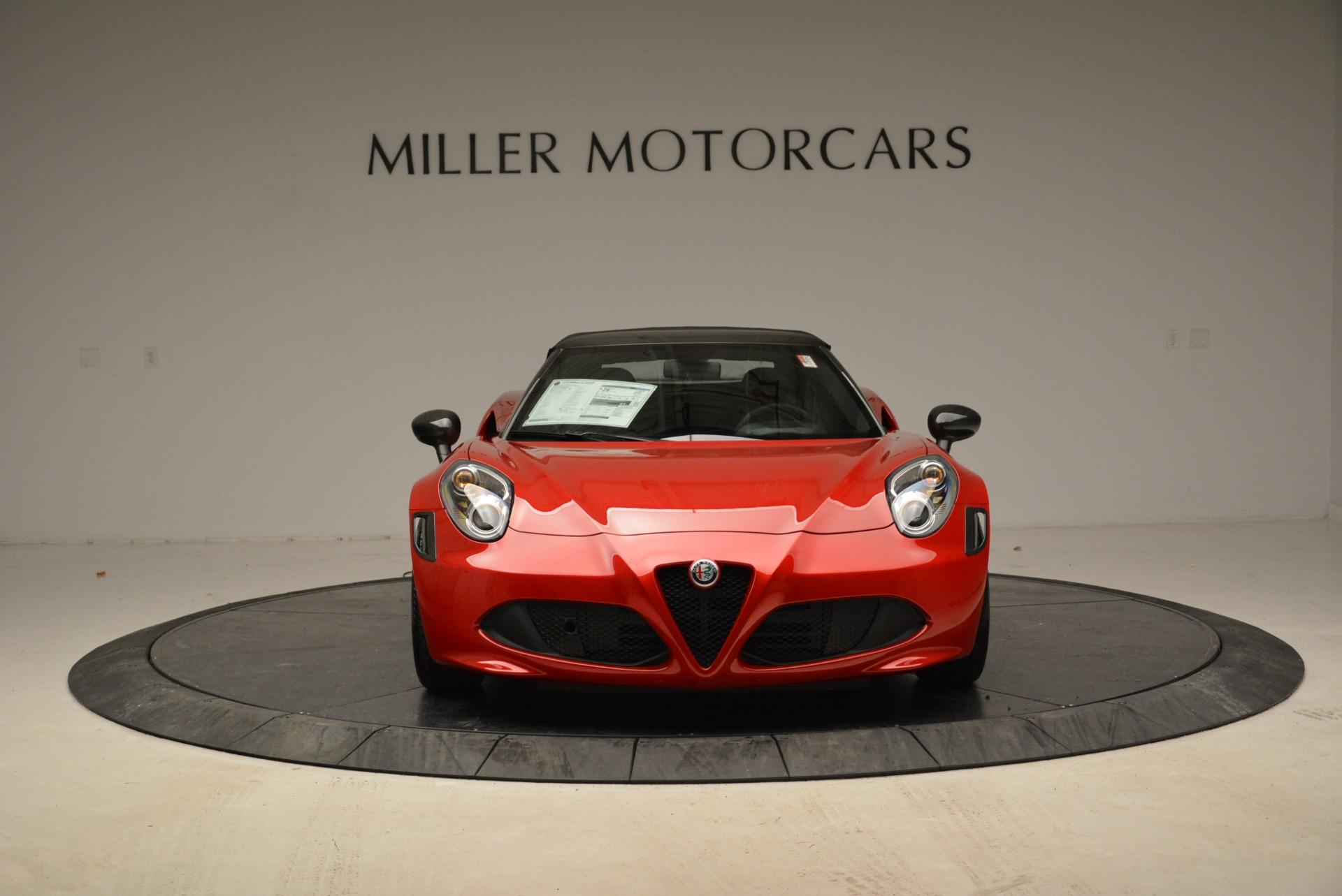 New 2018 Alfa Romeo 4C Spider For Sale In Greenwich, CT. Alfa Romeo of Greenwich, LW105 1880_p18