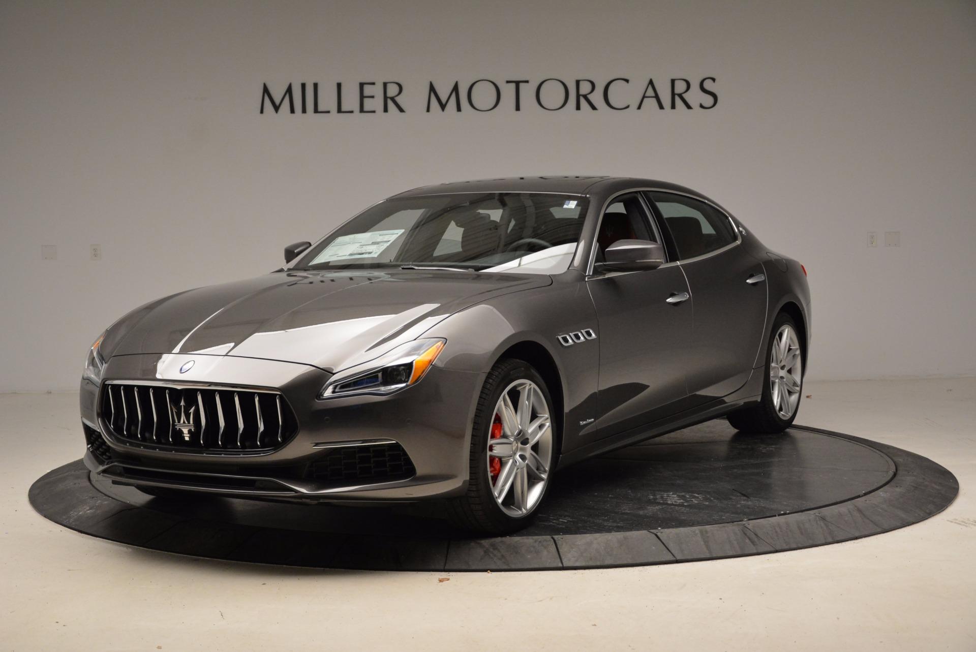 New 2018 Maserati Quattroporte S Q4 GranLusso For Sale In Greenwich, CT. Alfa Romeo of Greenwich, W544 1888_main
