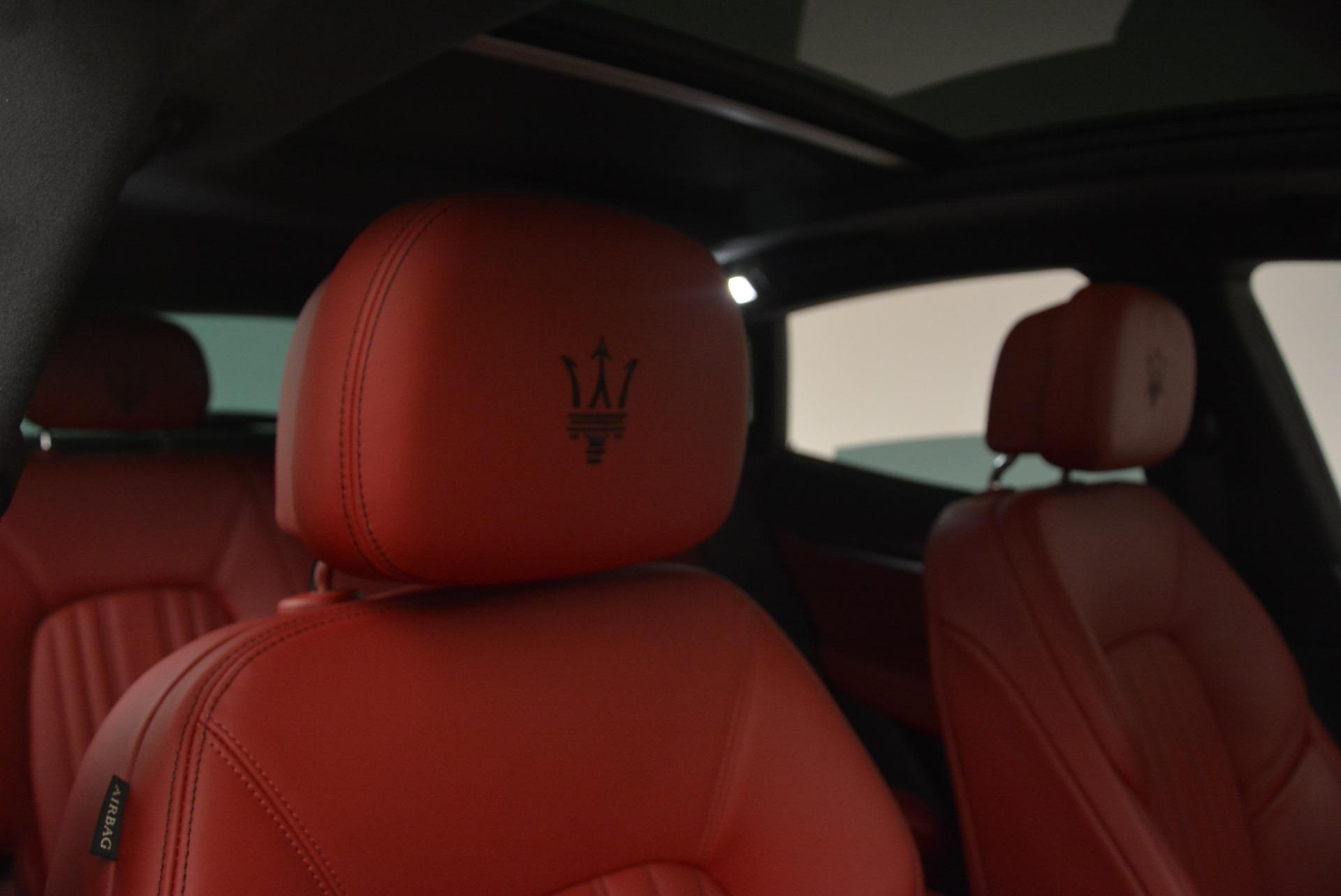 New 2018 Maserati Levante Q4 GranLusso For Sale In Greenwich, CT. Alfa Romeo of Greenwich, W545 1889_p22