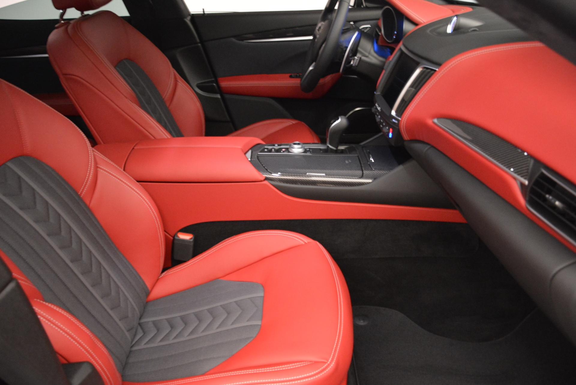 New 2018 Maserati Levante Q4 GranLusso For Sale In Greenwich, CT. Alfa Romeo of Greenwich, W547 1890_p21