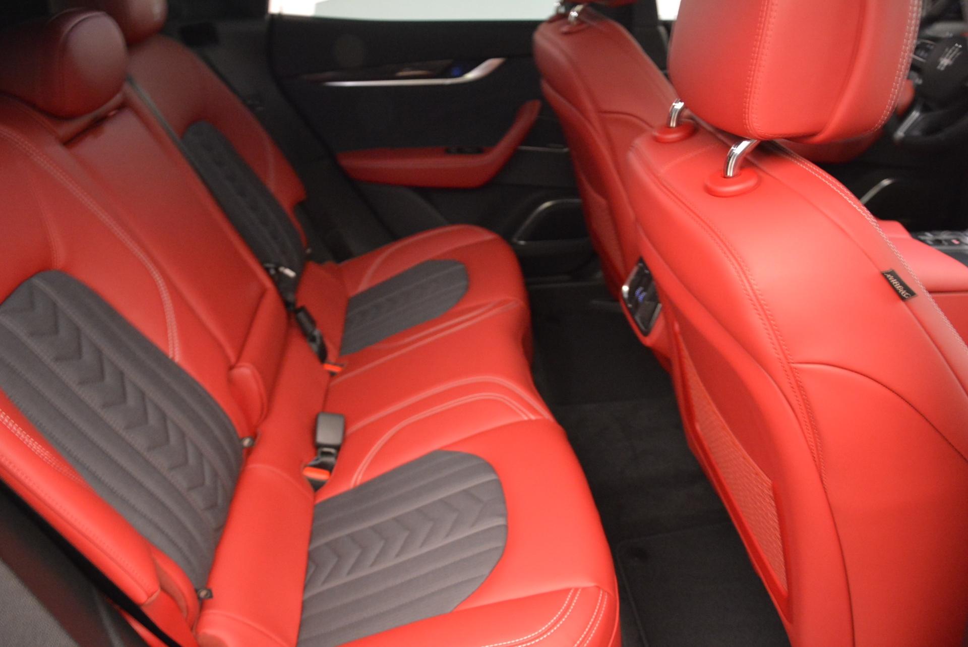 New 2018 Maserati Levante Q4 GranLusso For Sale In Greenwich, CT. Alfa Romeo of Greenwich, W547 1890_p24