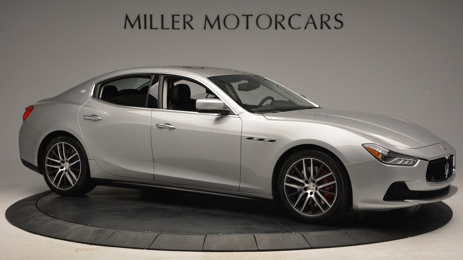 New 2016 Maserati Ghibli S Q4 For Sale In Greenwich, CT. Alfa Romeo of Greenwich, M1620 190_p10