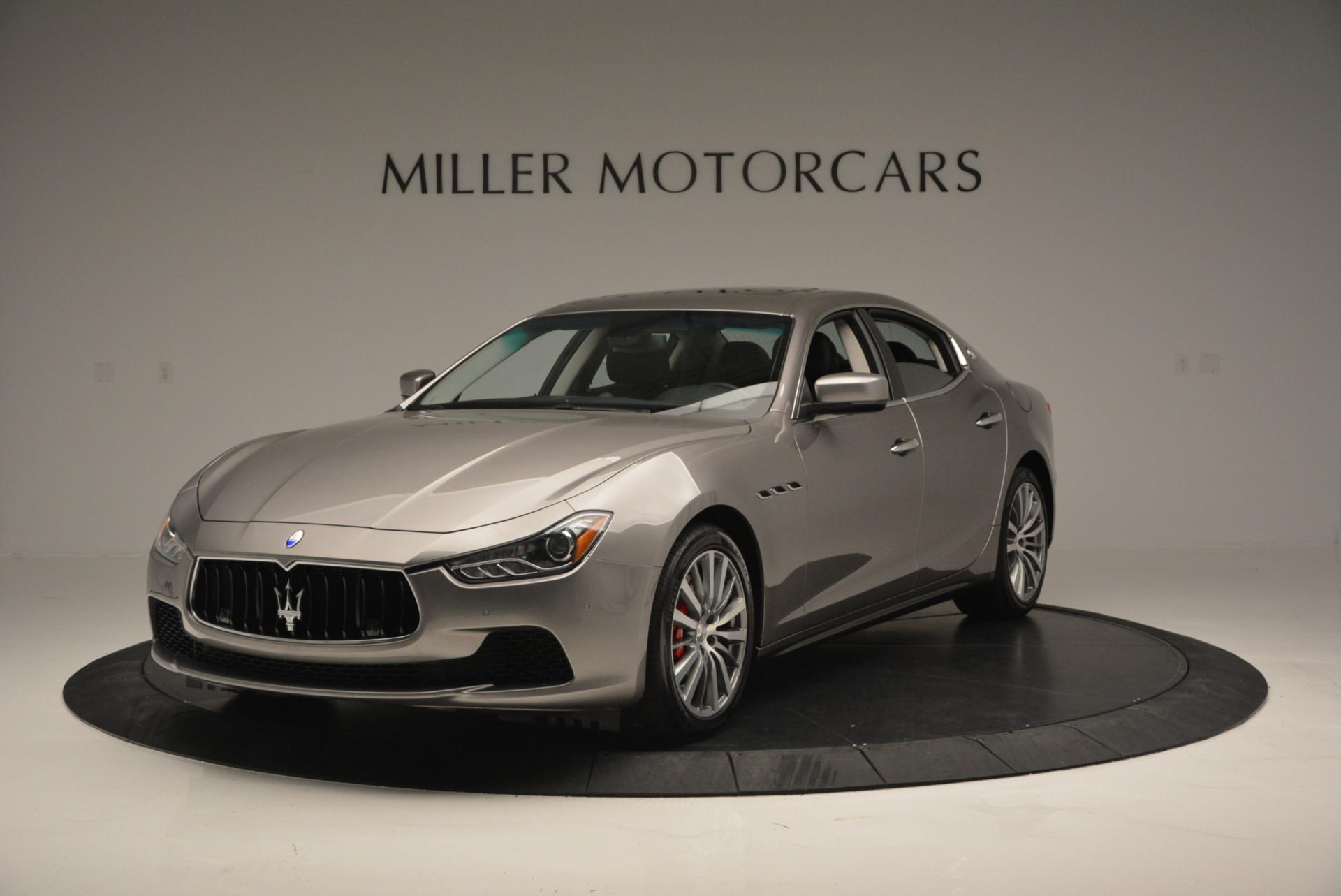 Used 2016 Maserati Ghibli S Q4 For Sale In Greenwich, CT. Alfa Romeo of Greenwich, M1478 192_main