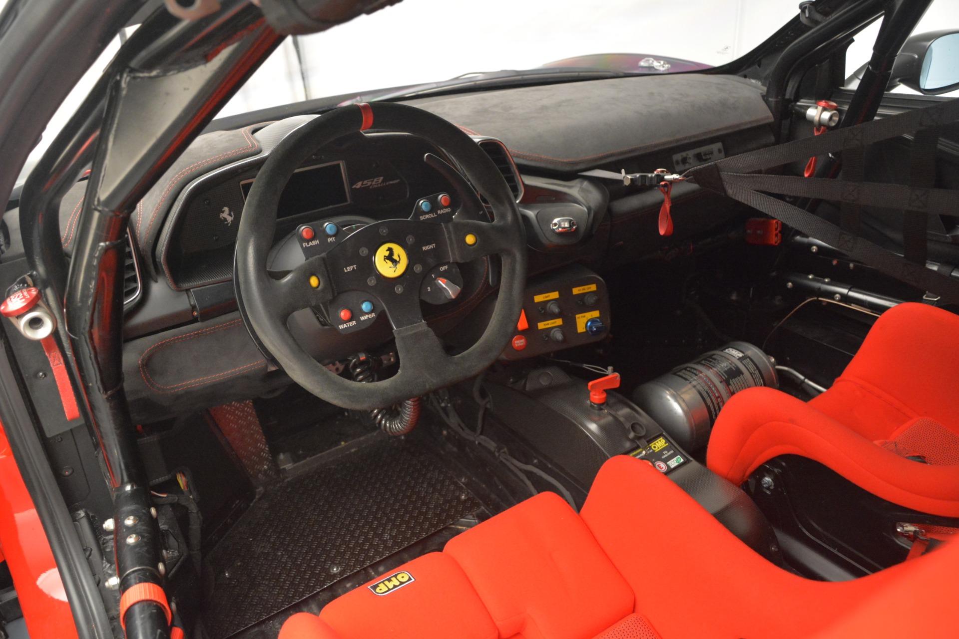 Used 2013 Ferrari 458 Challenge  For Sale $155900 In Greenwich, CT 1921_p12