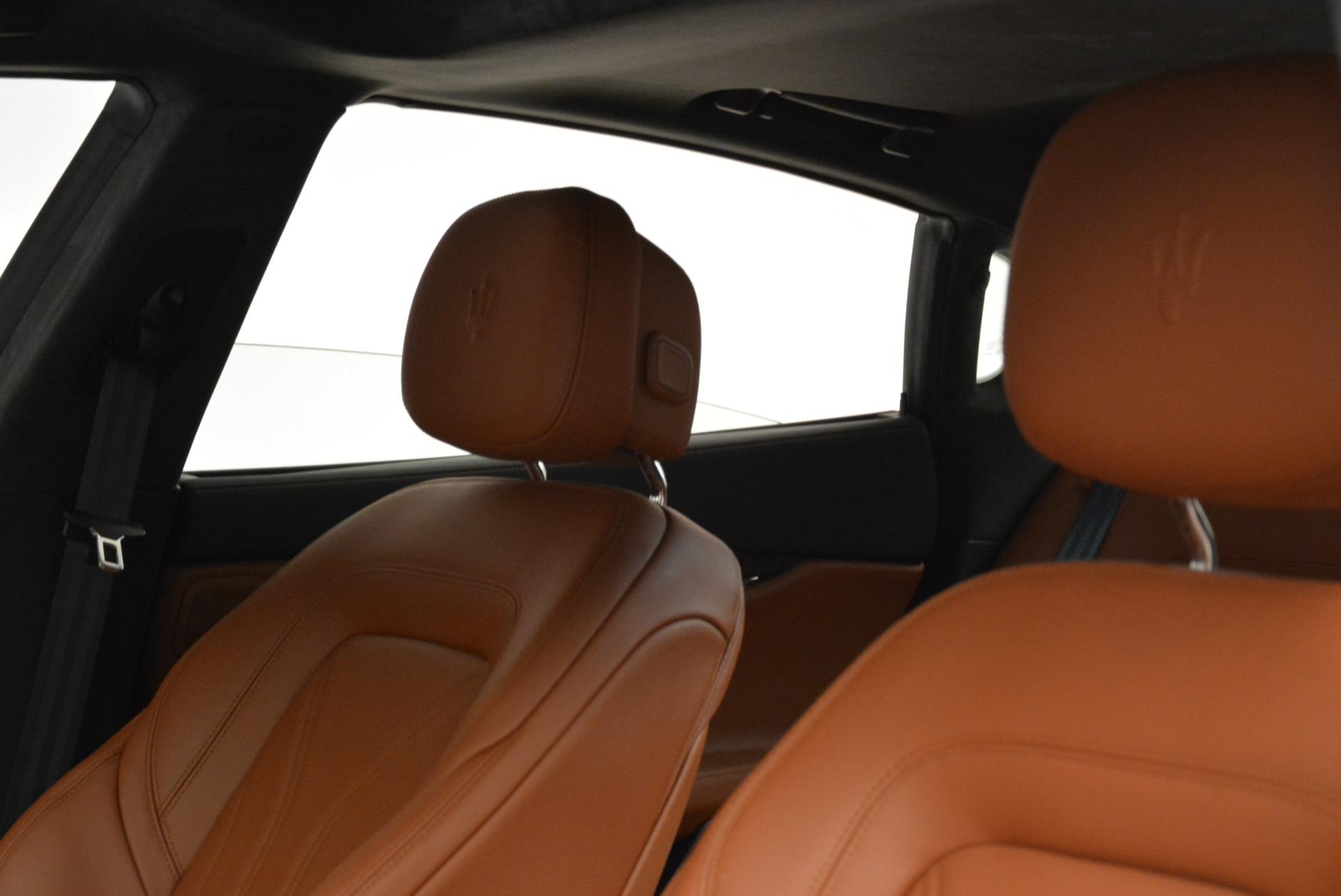 New 2018 Maserati Quattroporte S Q4 GranLusso For Sale In Greenwich, CT. Alfa Romeo of Greenwich, W550 1926_p13