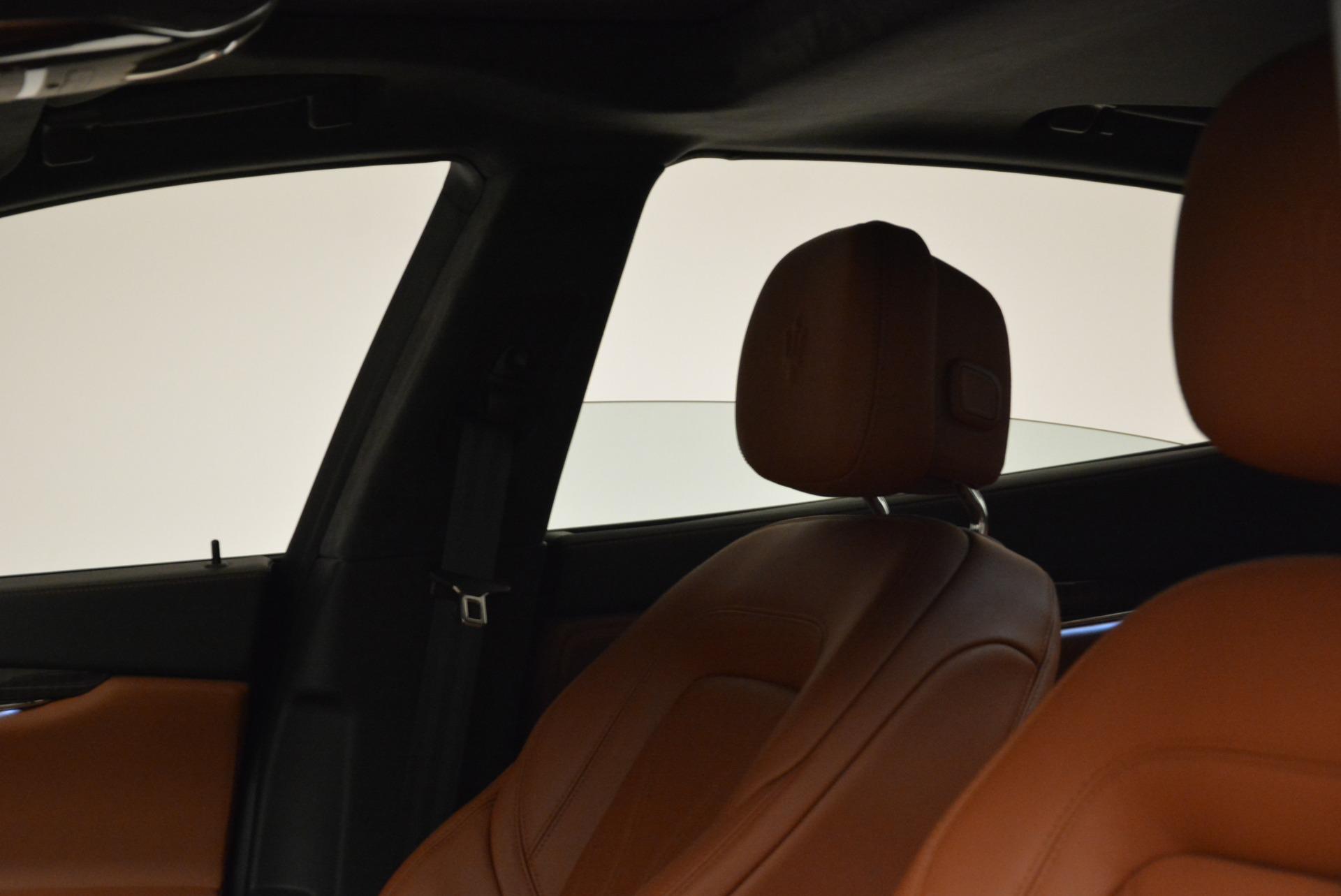 New 2018 Maserati Quattroporte S Q4 GranLusso For Sale In Greenwich, CT. Alfa Romeo of Greenwich, W550 1926_p14