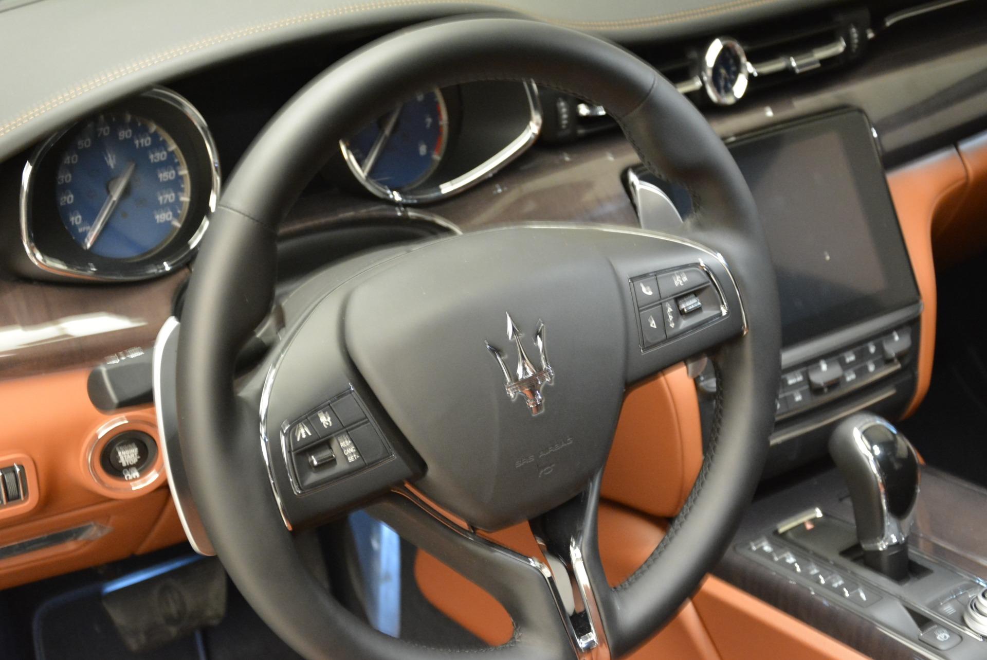 New 2018 Maserati Quattroporte S Q4 GranLusso For Sale In Greenwich, CT. Alfa Romeo of Greenwich, W550 1926_p19