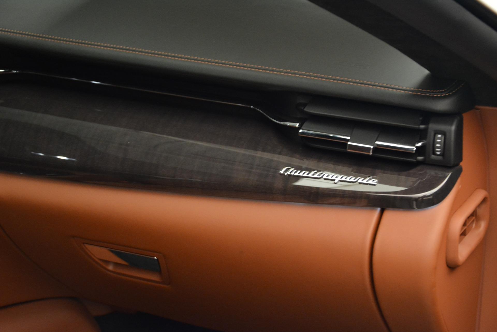 New 2018 Maserati Quattroporte S Q4 GranLusso For Sale In Greenwich, CT. Alfa Romeo of Greenwich, W550 1926_p20