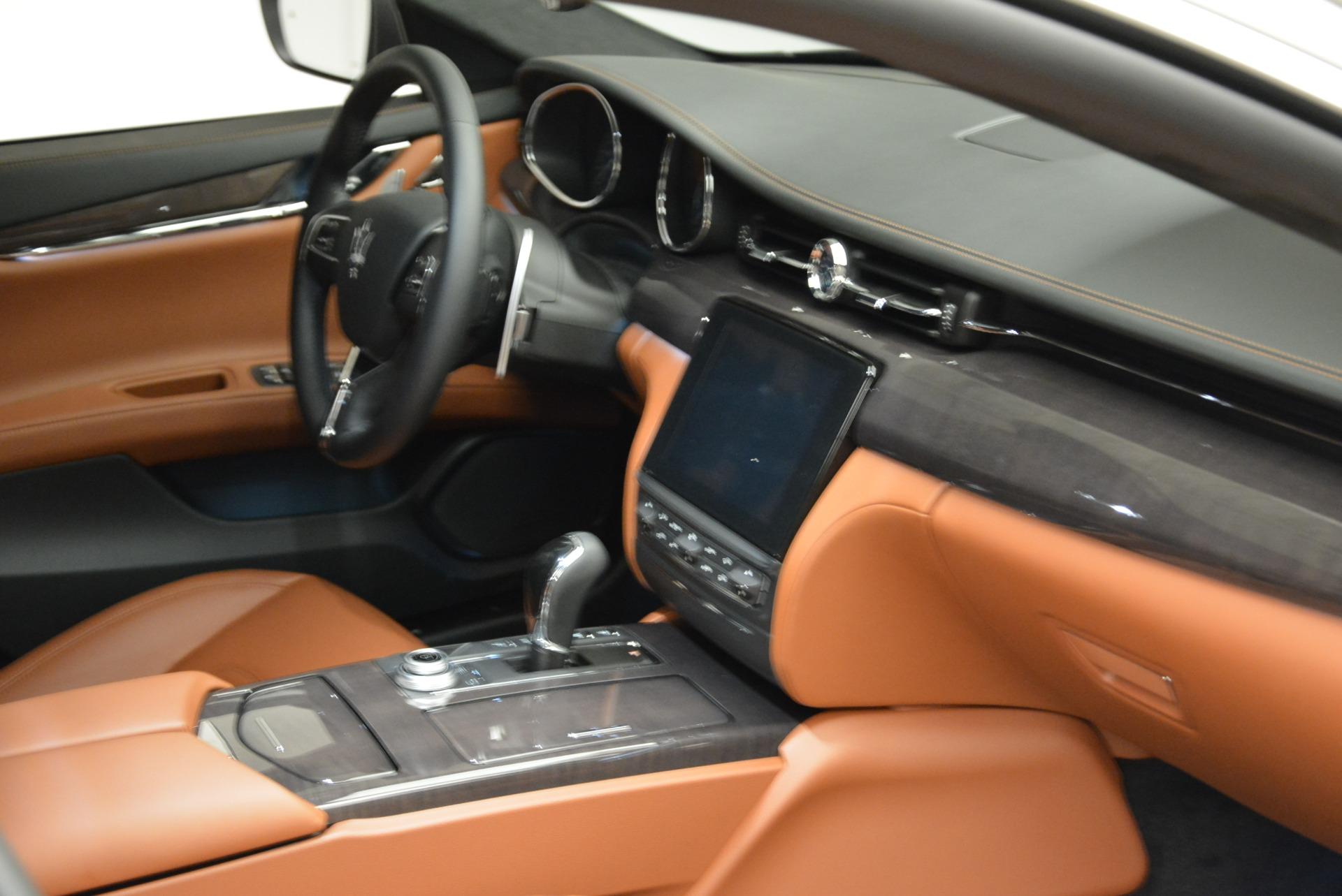 New 2018 Maserati Quattroporte S Q4 GranLusso For Sale In Greenwich, CT. Alfa Romeo of Greenwich, W550 1926_p22