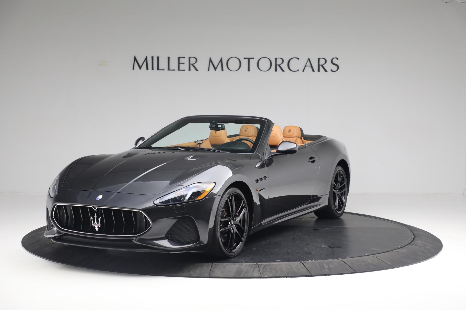 New 2018 Maserati GranTurismo MC Convertible For Sale In Greenwich, CT. Alfa Romeo of Greenwich, M2032 1933_main