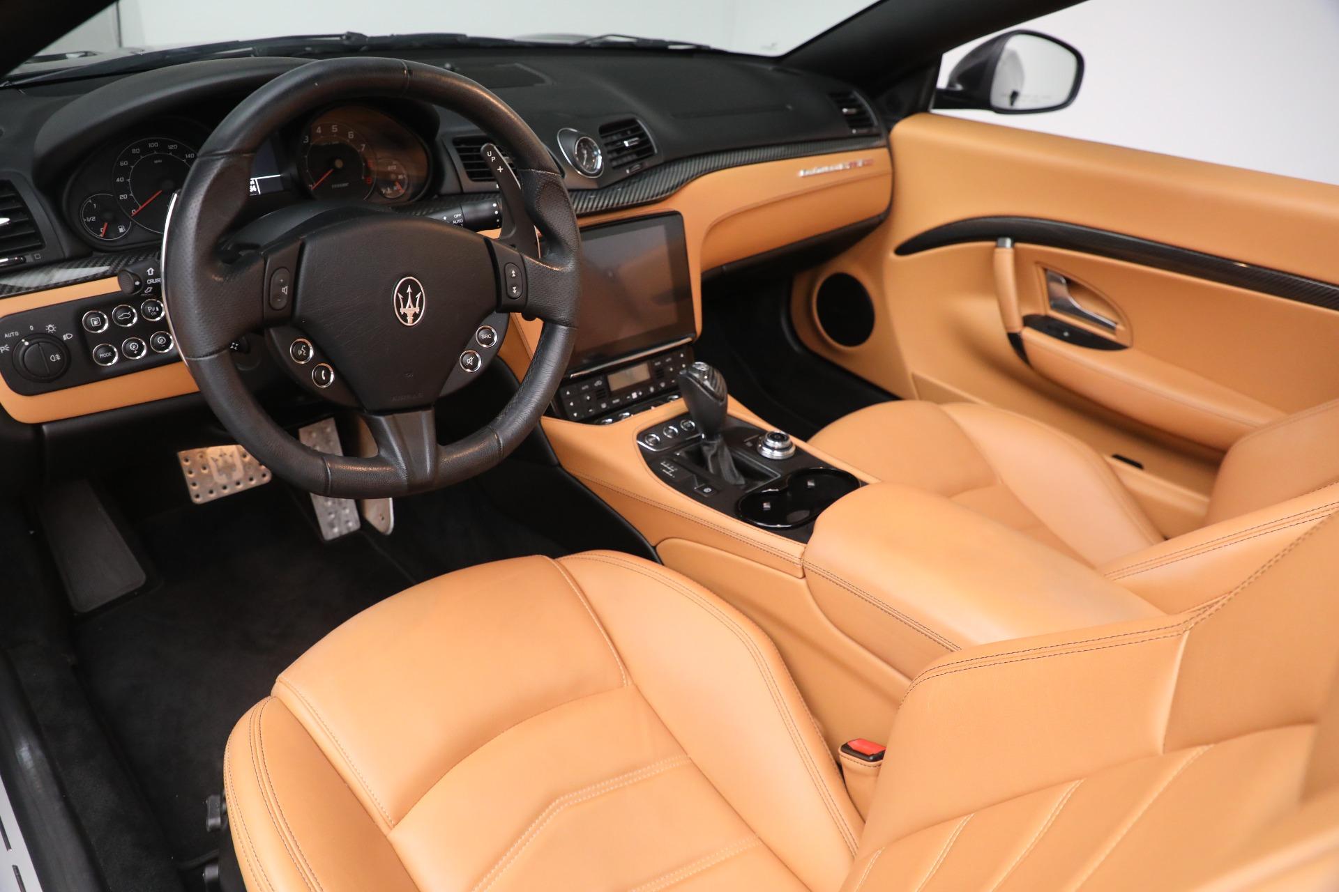 New 2018 Maserati GranTurismo MC Convertible For Sale In Greenwich, CT. Alfa Romeo of Greenwich, M2032 1933_p19