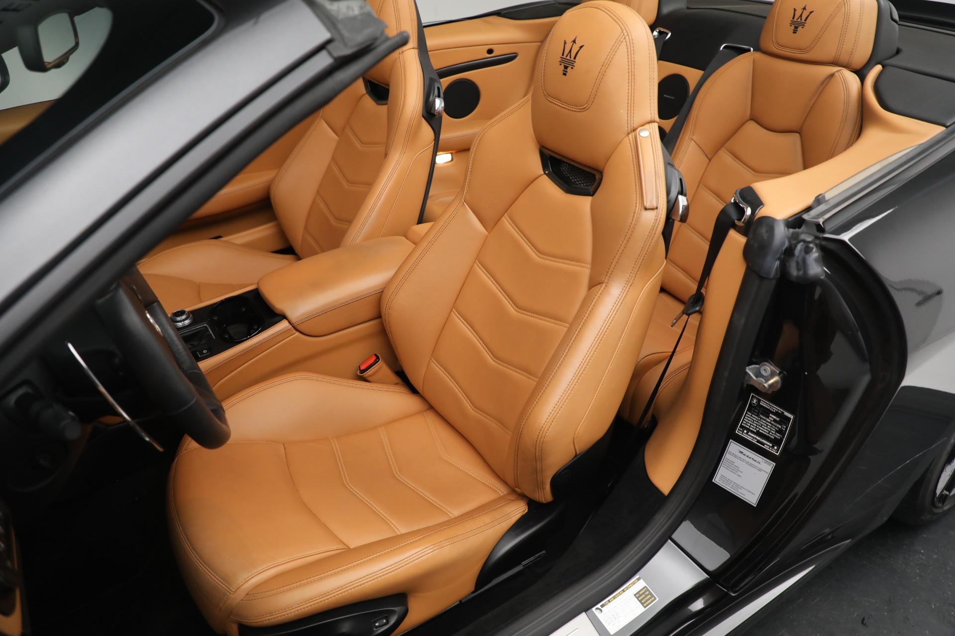 New 2018 Maserati GranTurismo MC Convertible For Sale In Greenwich, CT. Alfa Romeo of Greenwich, M2032 1933_p21