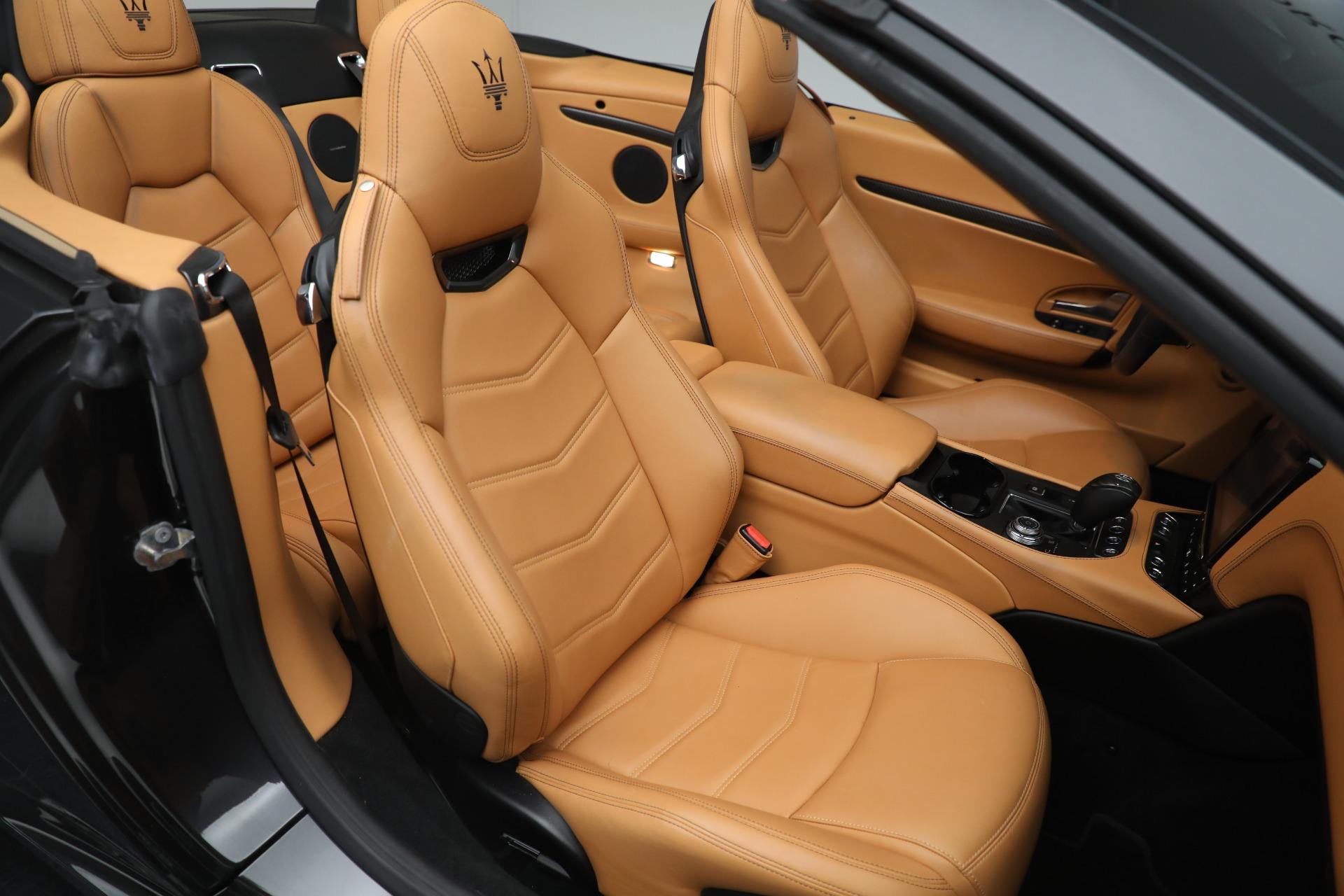 New 2018 Maserati GranTurismo MC Convertible For Sale In Greenwich, CT. Alfa Romeo of Greenwich, M2032 1933_p23