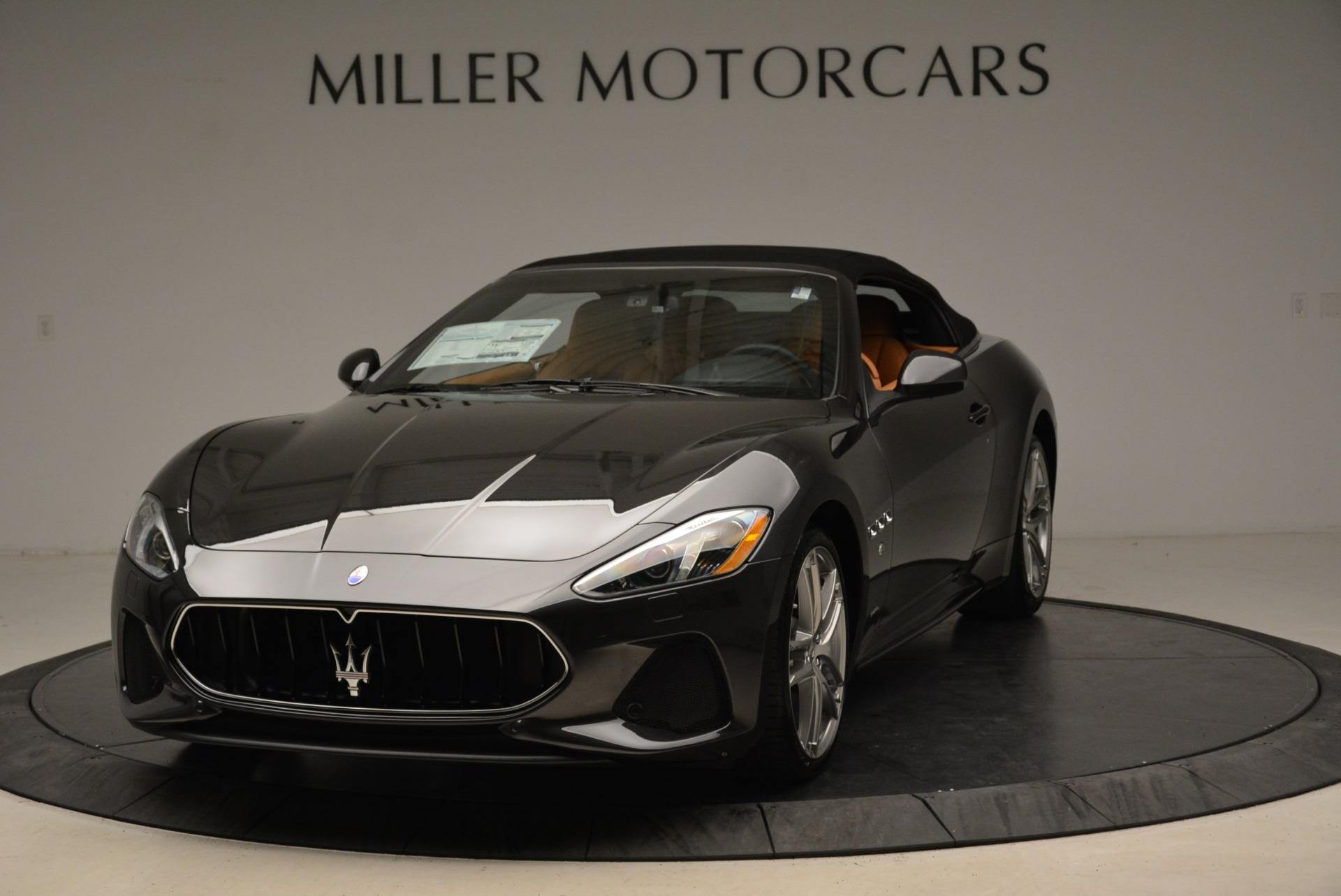 New 2018 Maserati GranTurismo Sport Convertible For Sale In Greenwich, CT. Alfa Romeo of Greenwich, M2028 1942_main