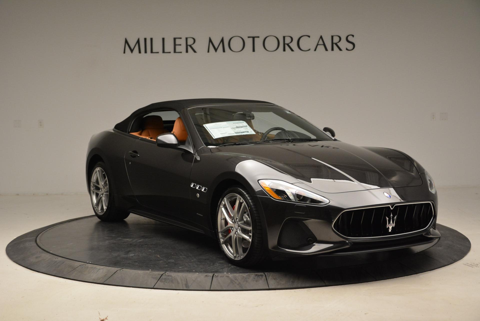 New 2018 Maserati GranTurismo Sport Convertible For Sale In Greenwich, CT. Alfa Romeo of Greenwich, M2028 1942_p11
