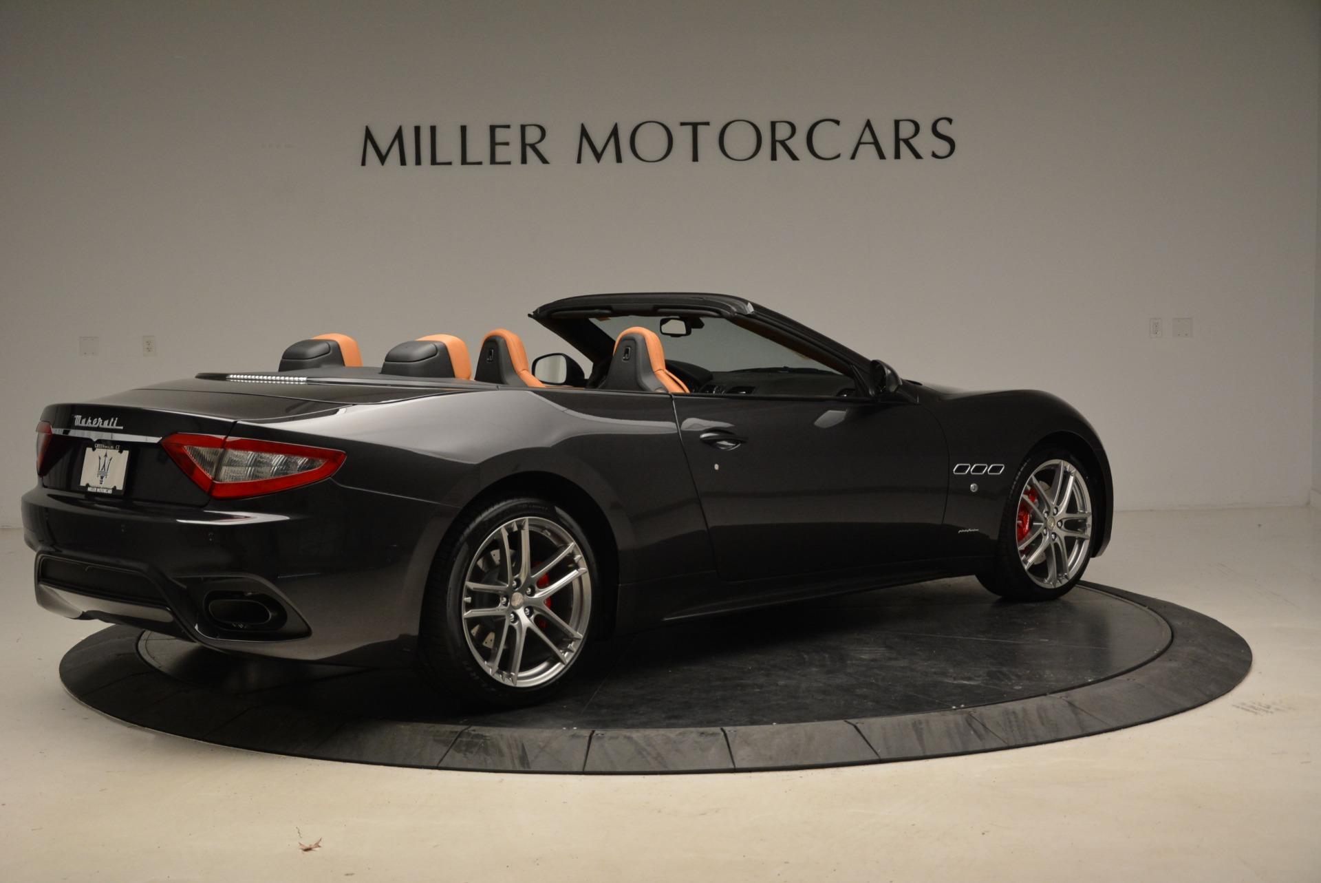 New 2018 Maserati GranTurismo Sport Convertible For Sale In Greenwich, CT. Alfa Romeo of Greenwich, M2028 1942_p20